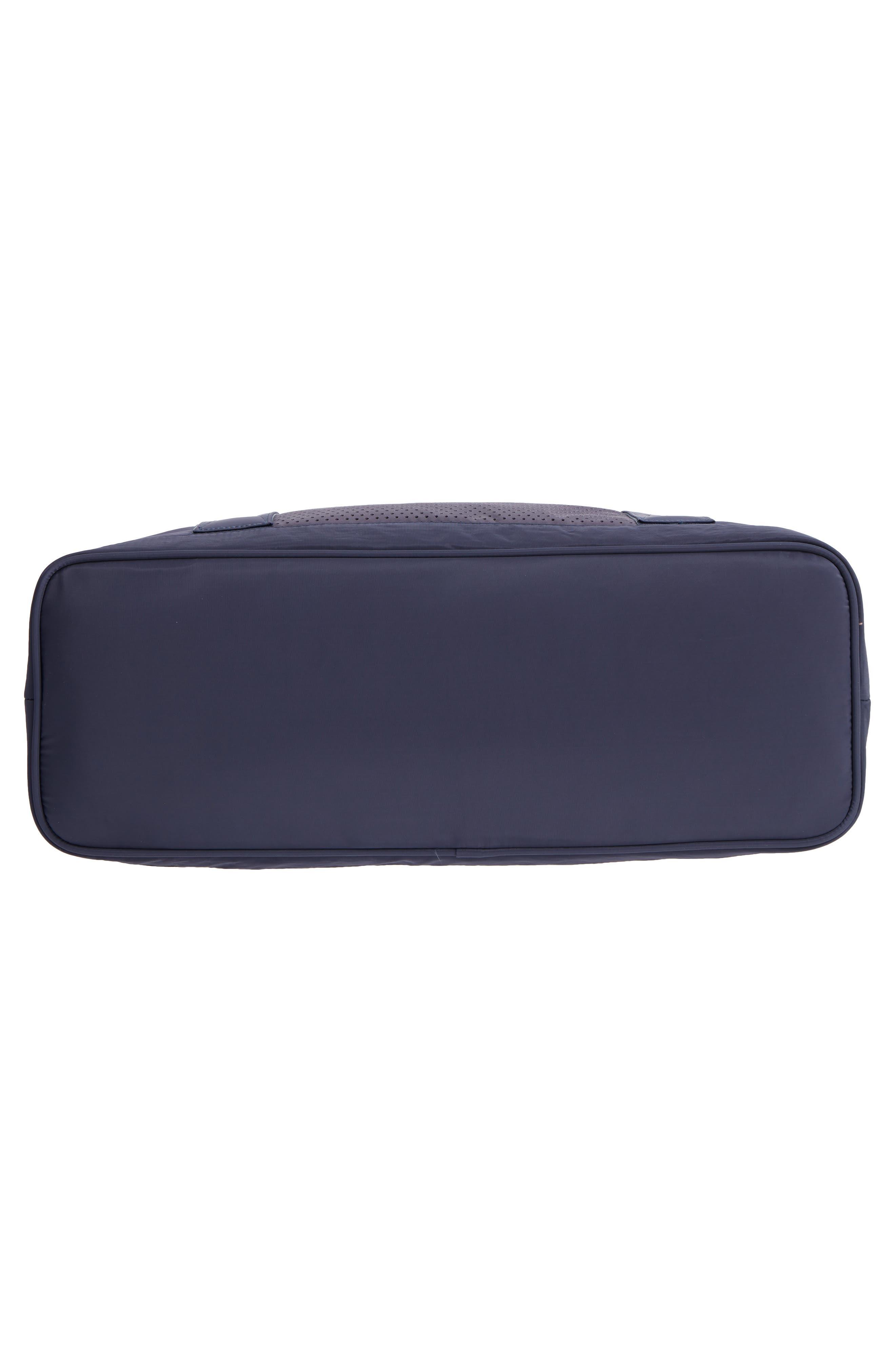 New Perforated Duffel Bag,                             Alternate thumbnail 6, color,                             NAVY MARITIME
