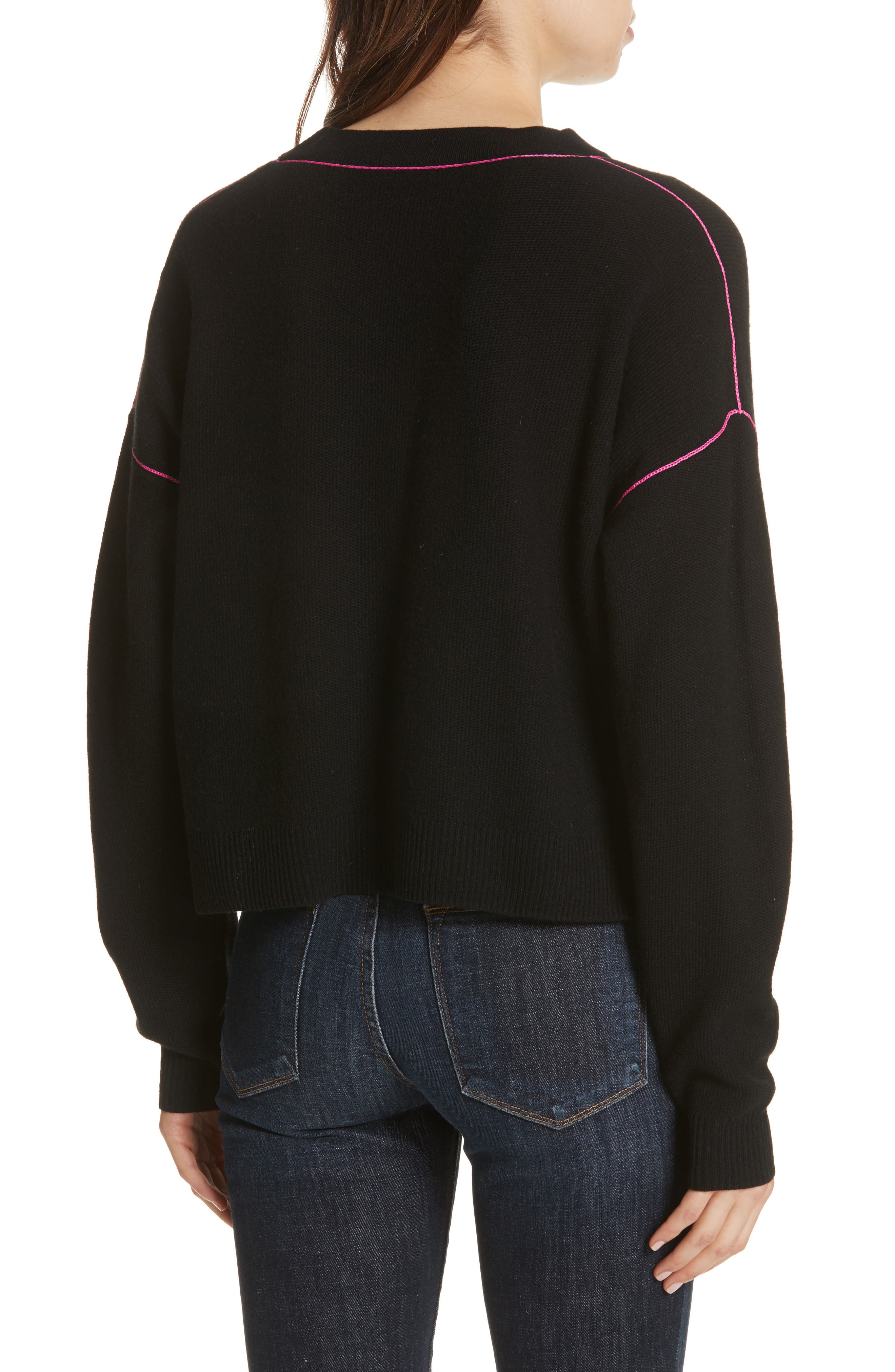 Benin Wool & Cashmere Sweater,                             Alternate thumbnail 2, color,