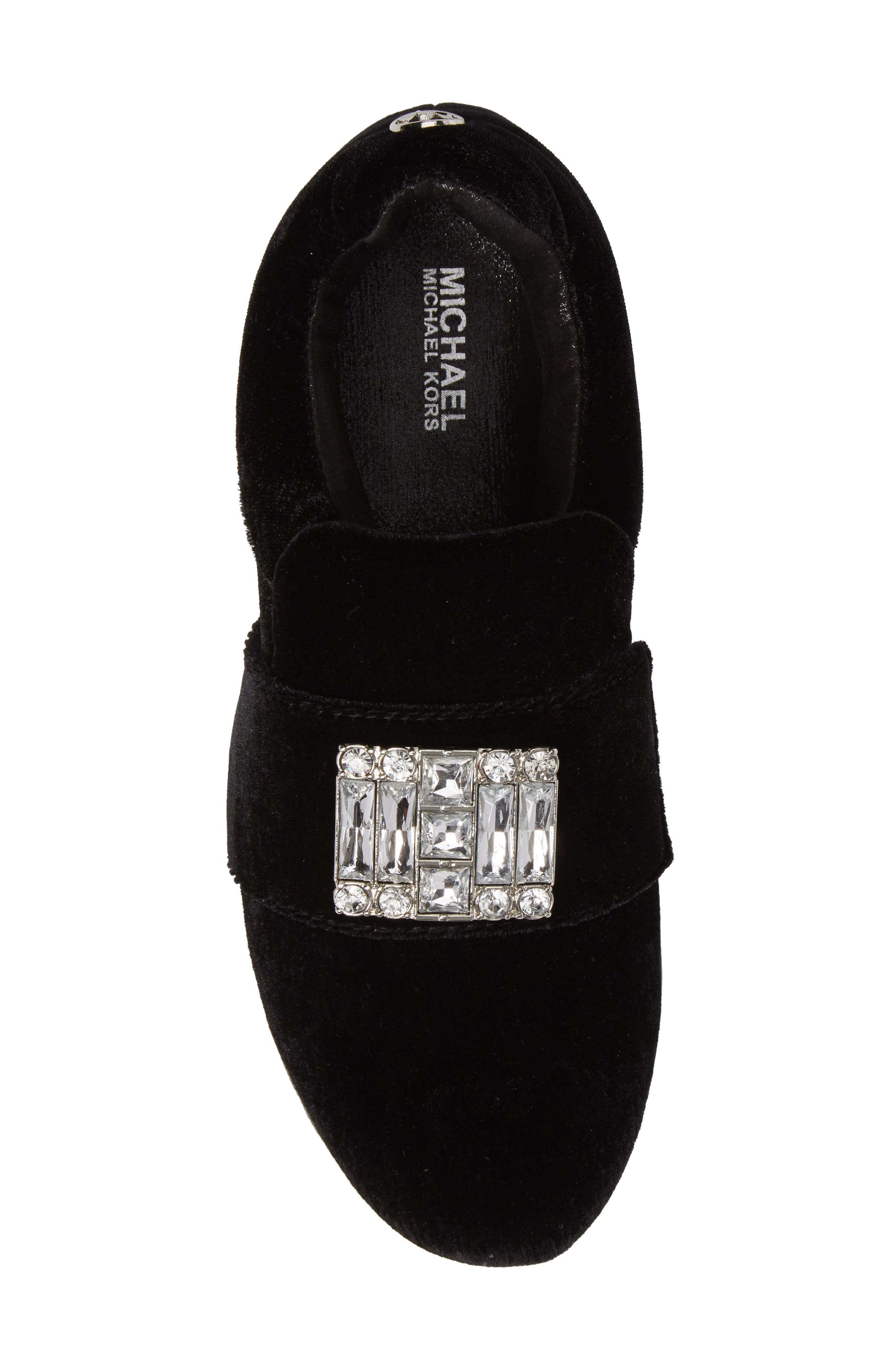 Ivy Dream Embellished Slip-On Sneaker,                             Alternate thumbnail 5, color,                             001