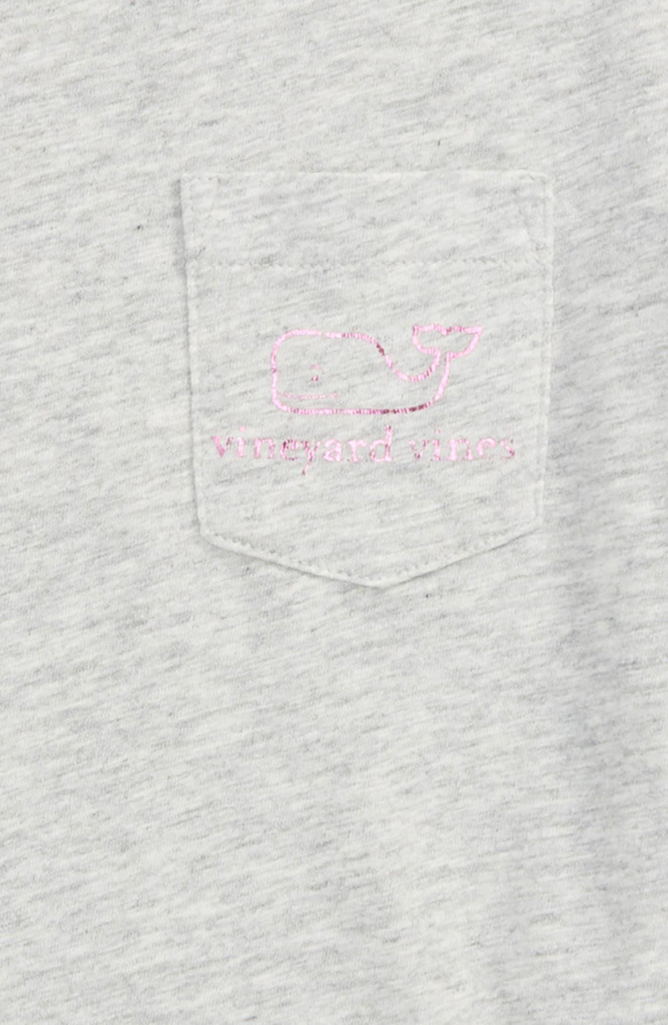 Vintage Foil Whale Pocket Tee,                             Alternate thumbnail 3, color,                             020