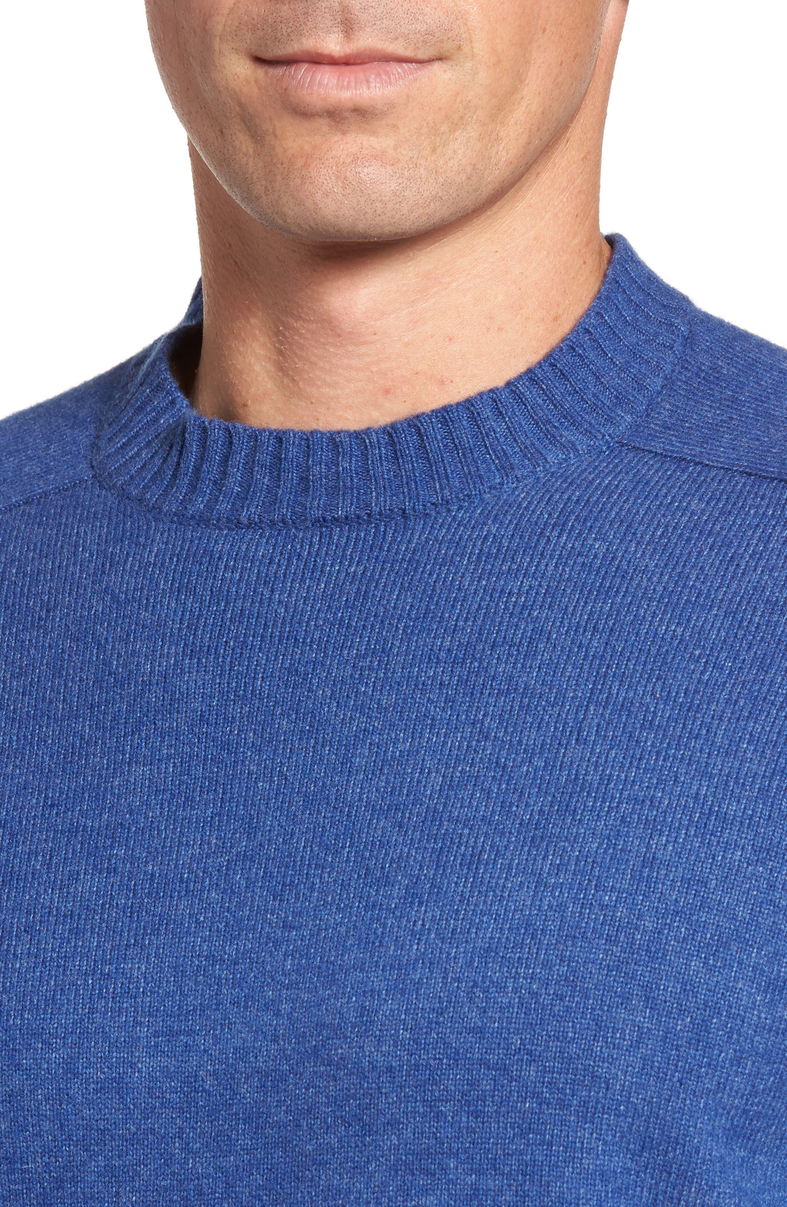 Crown Vintage Crewneck Sweatshirt,                             Alternate thumbnail 8, color,