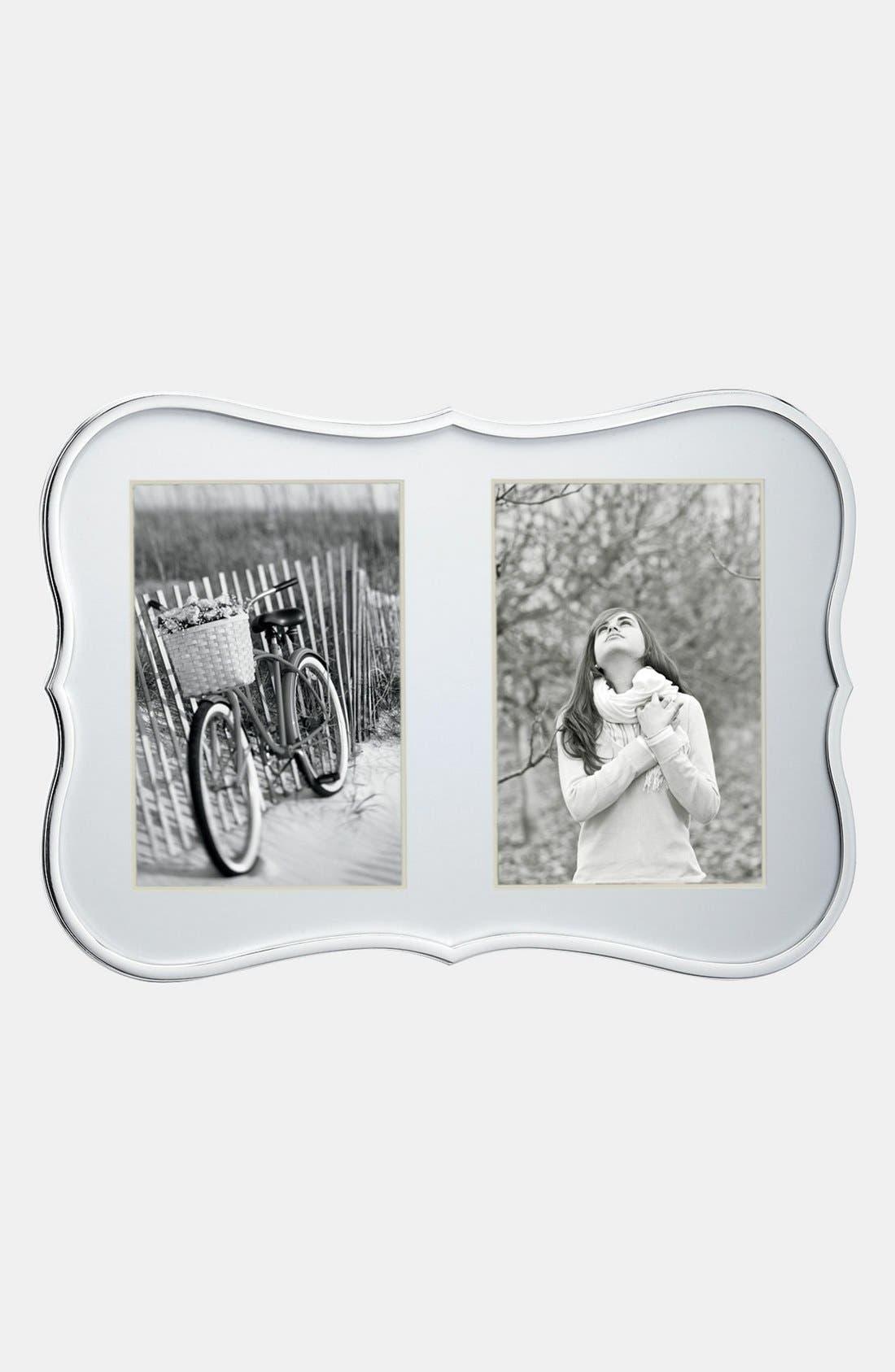 'crown point' double invitation frame,                             Main thumbnail 1, color,                             NO COLOR