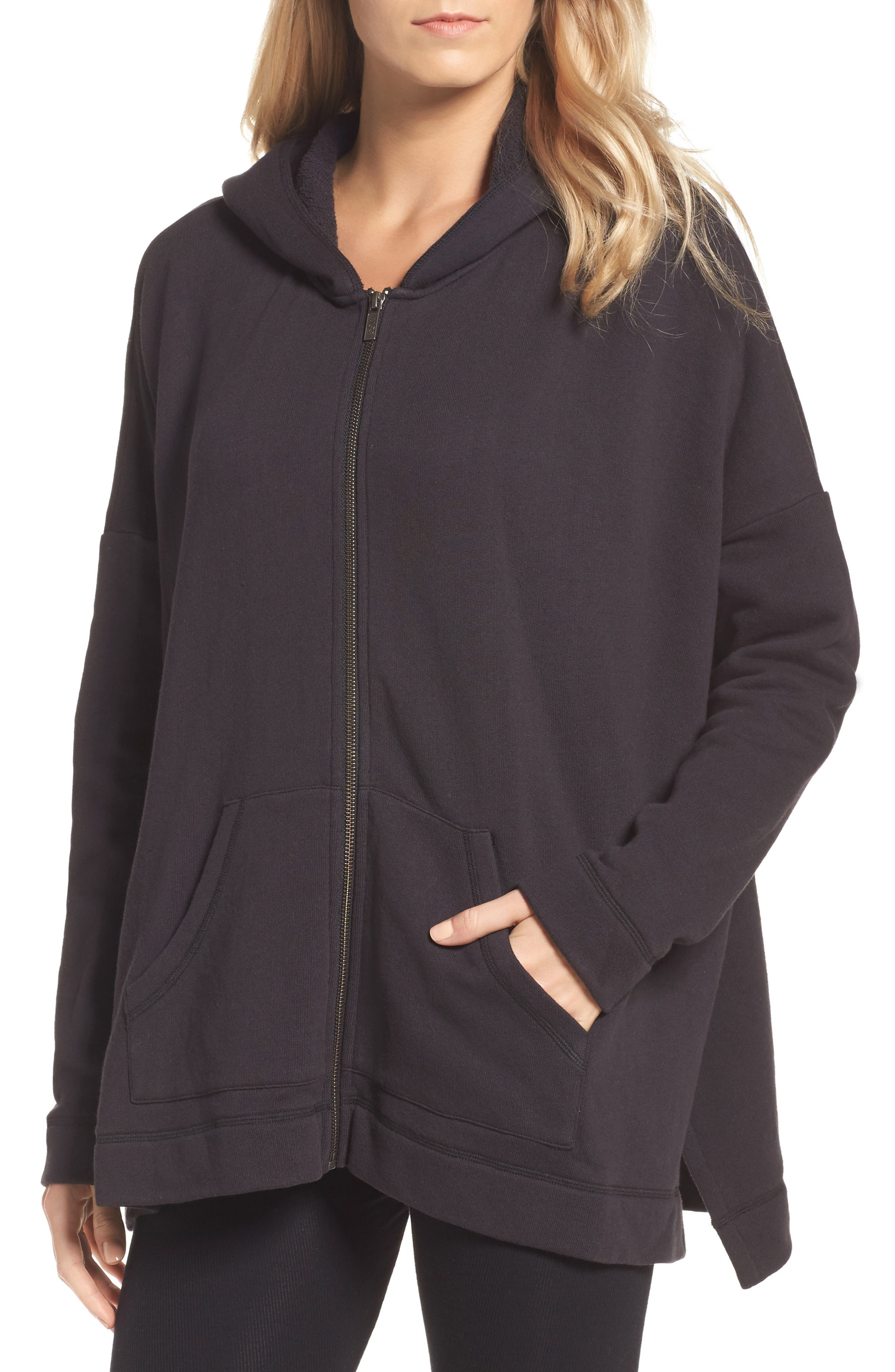 Pearl Oversize Hoodie,                             Main thumbnail 1, color,                             001