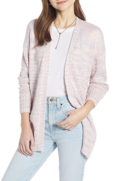 Something Navy Deep V-Neck Cardigan (Nordstrom Exclusive)  13983791f