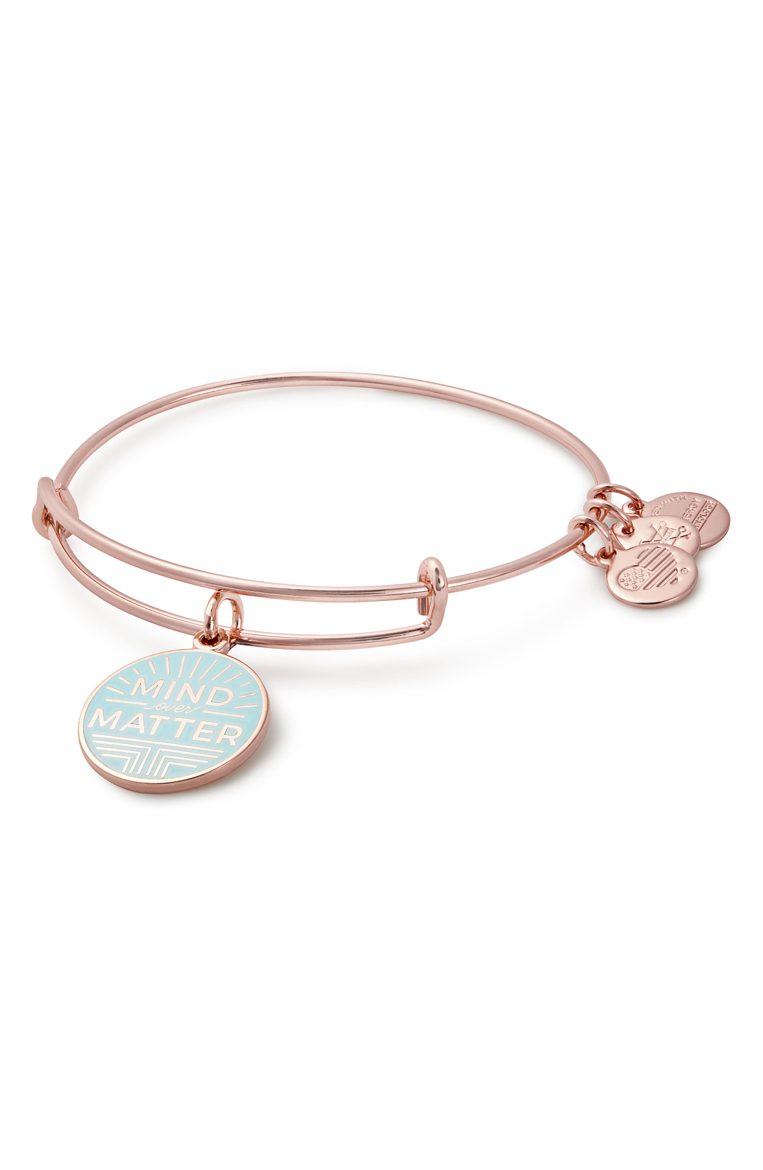 Mind over Matter Expandable Charm Bangle,                             Main thumbnail 1, color,                             650