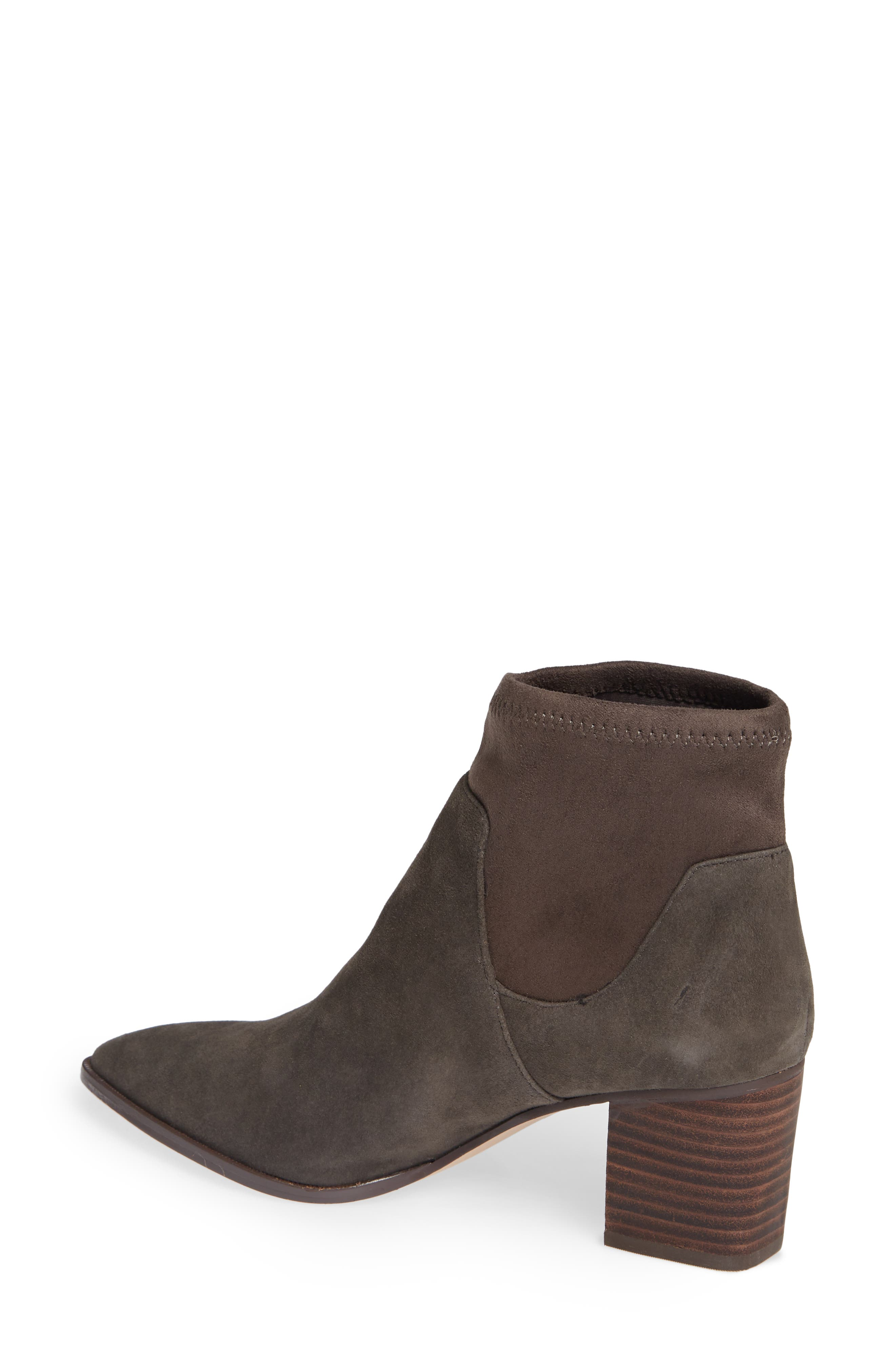 Dawnina Bootie,                             Alternate thumbnail 2, color,                             IRON SUEDE