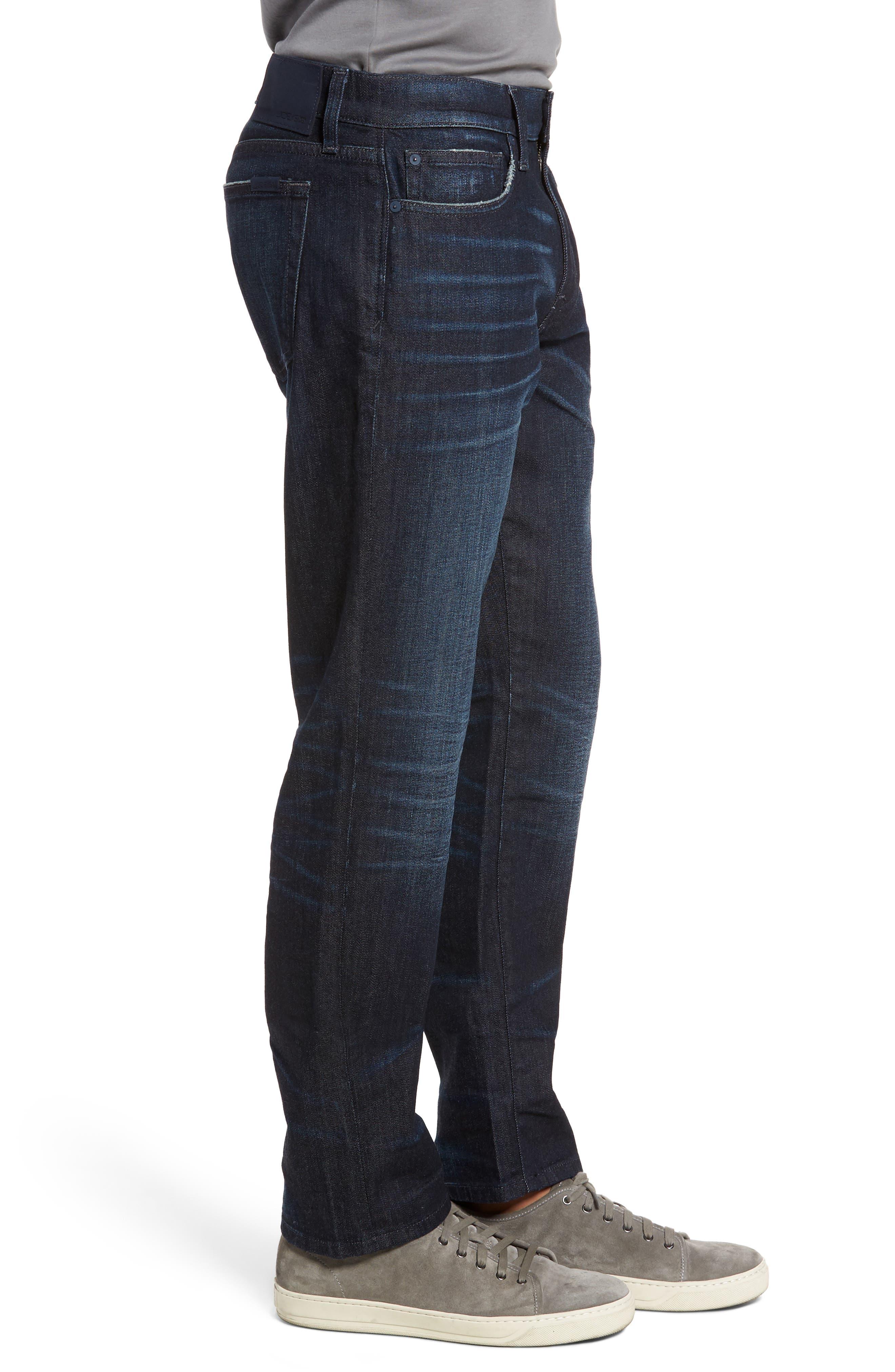 Brixton Slim Straight Fit Jeans,                             Alternate thumbnail 3, color,                             405