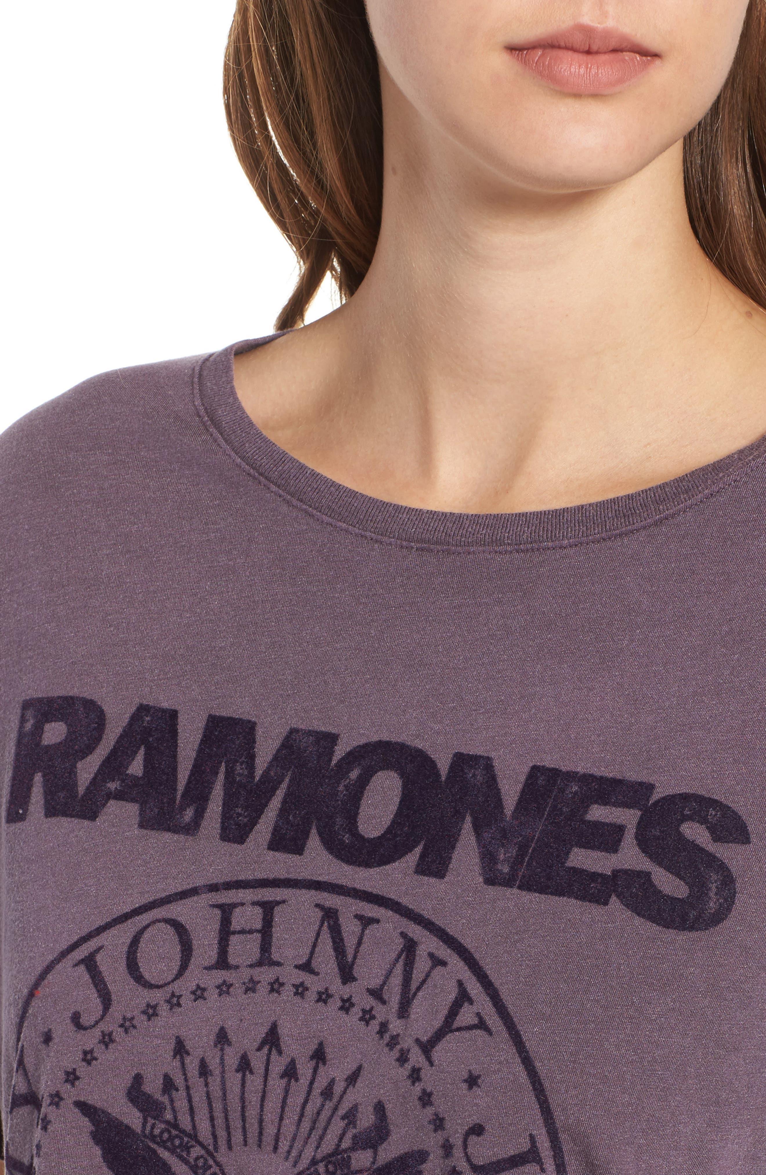 Ramones Tee,                             Alternate thumbnail 4, color,