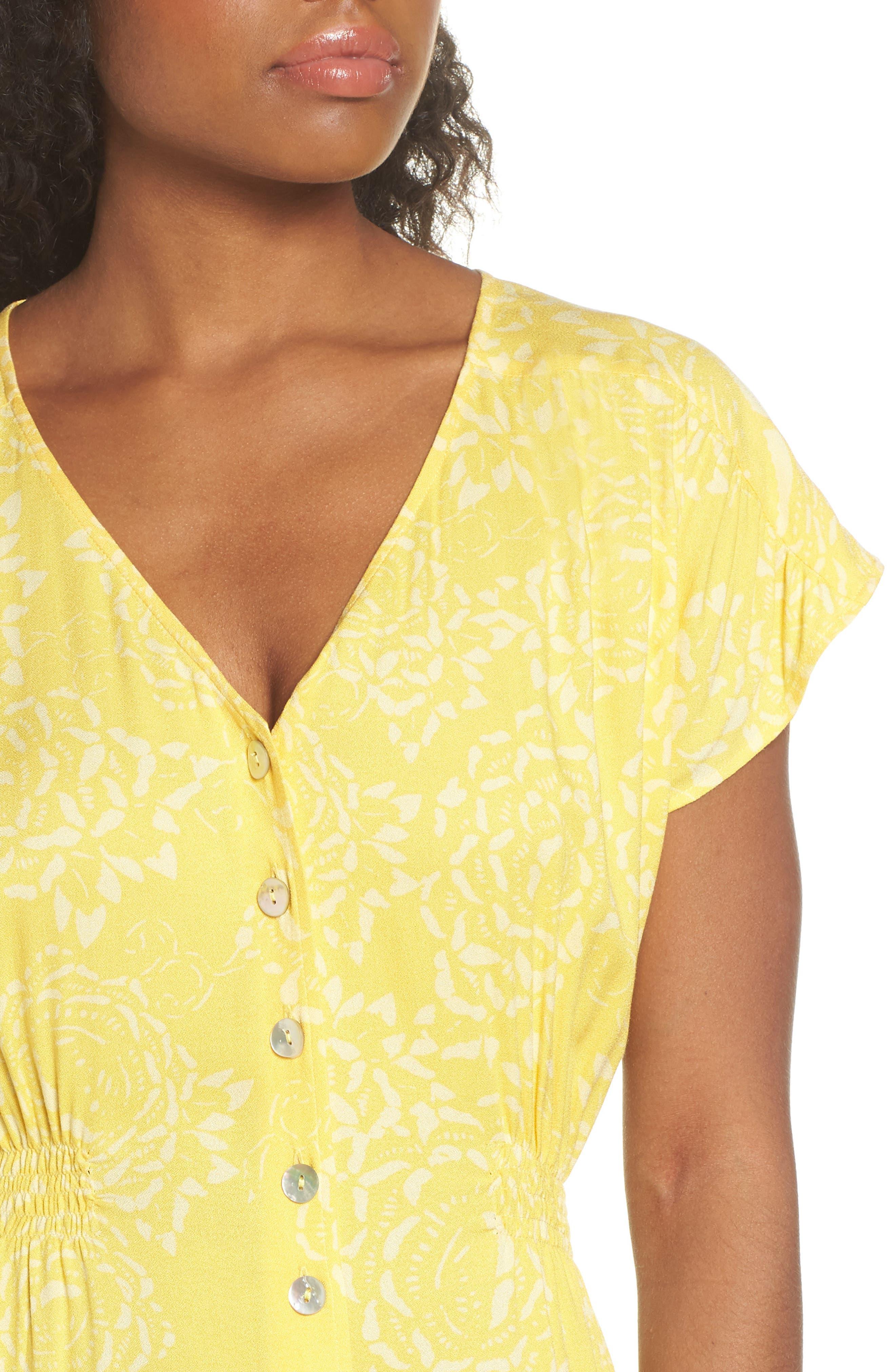 Lido Front Button Sheath Dress,                             Alternate thumbnail 4, color,                             707