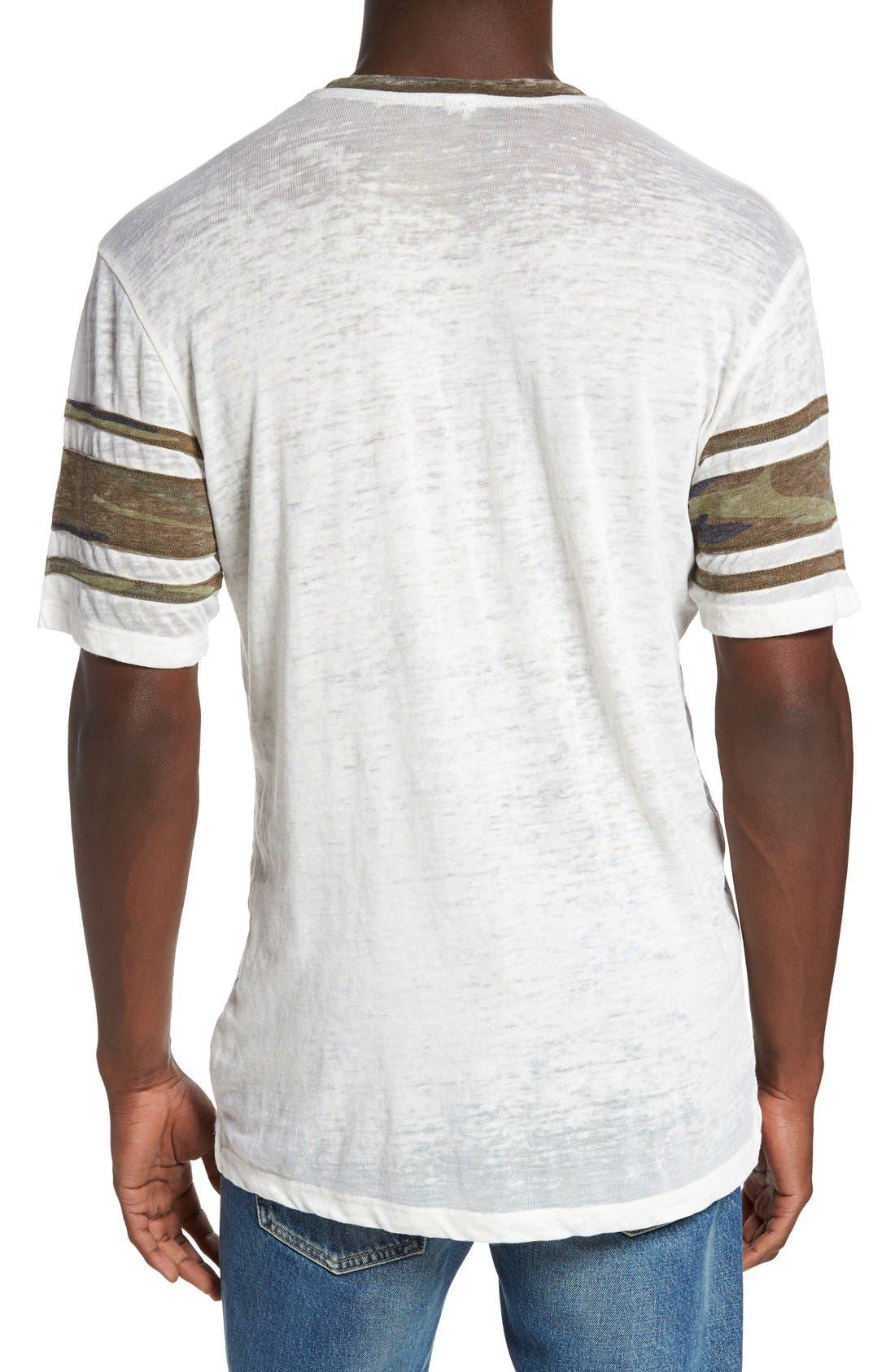 'Touchdown' Football T-Shirt,                             Alternate thumbnail 5, color,