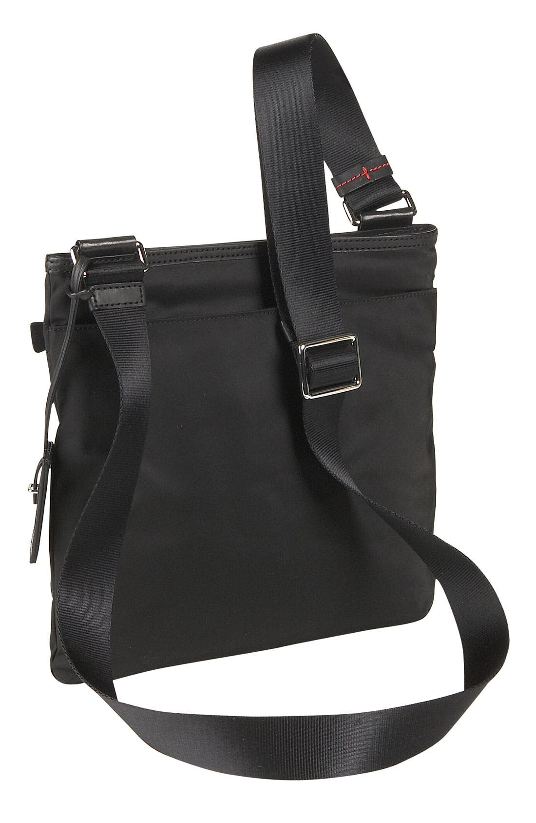 'Voyager - Capri' Crossbody Bag,                             Alternate thumbnail 4, color,                             001