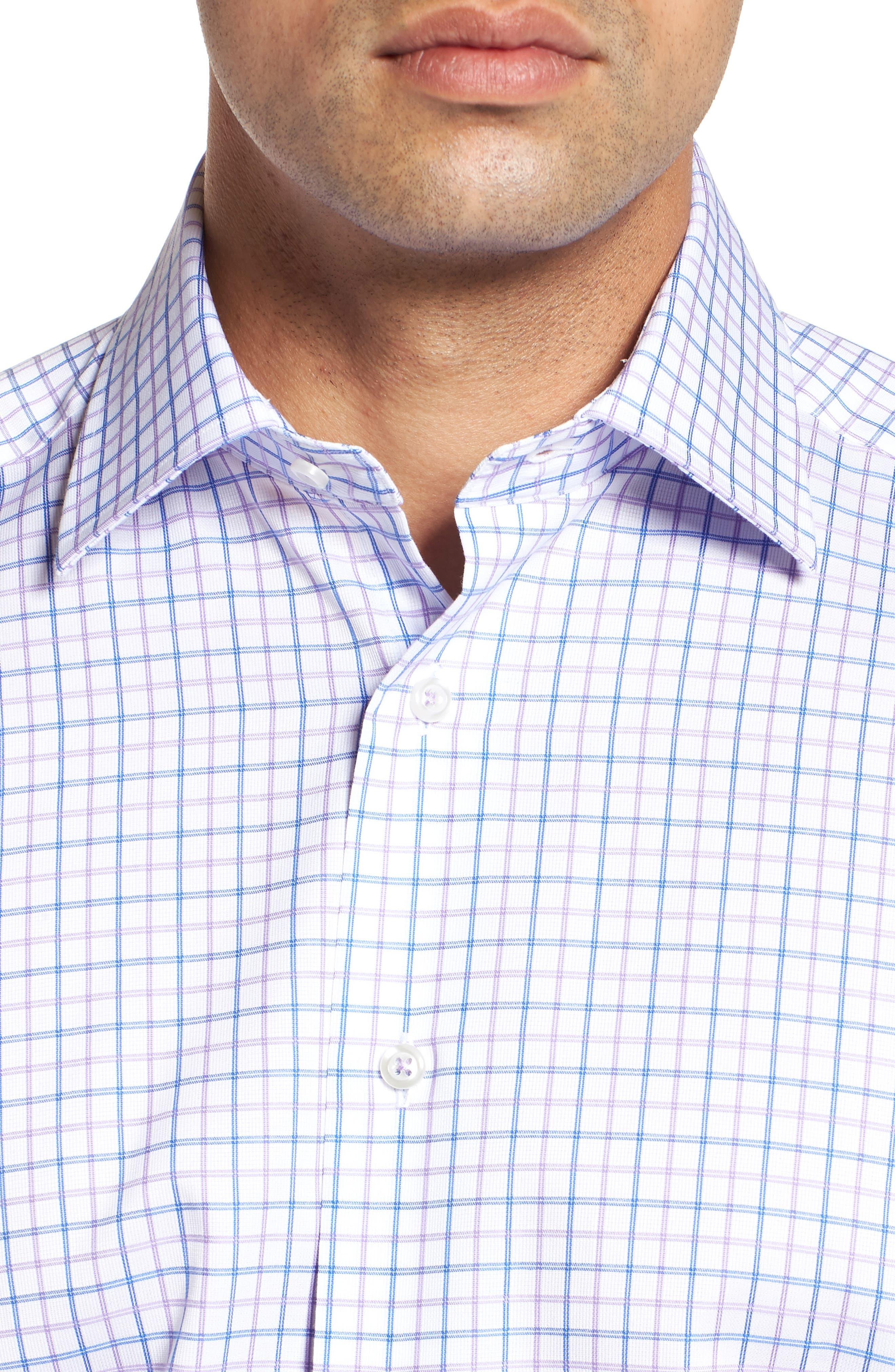 Regular Fit Check Dress Shirt,                             Alternate thumbnail 2, color,                             534