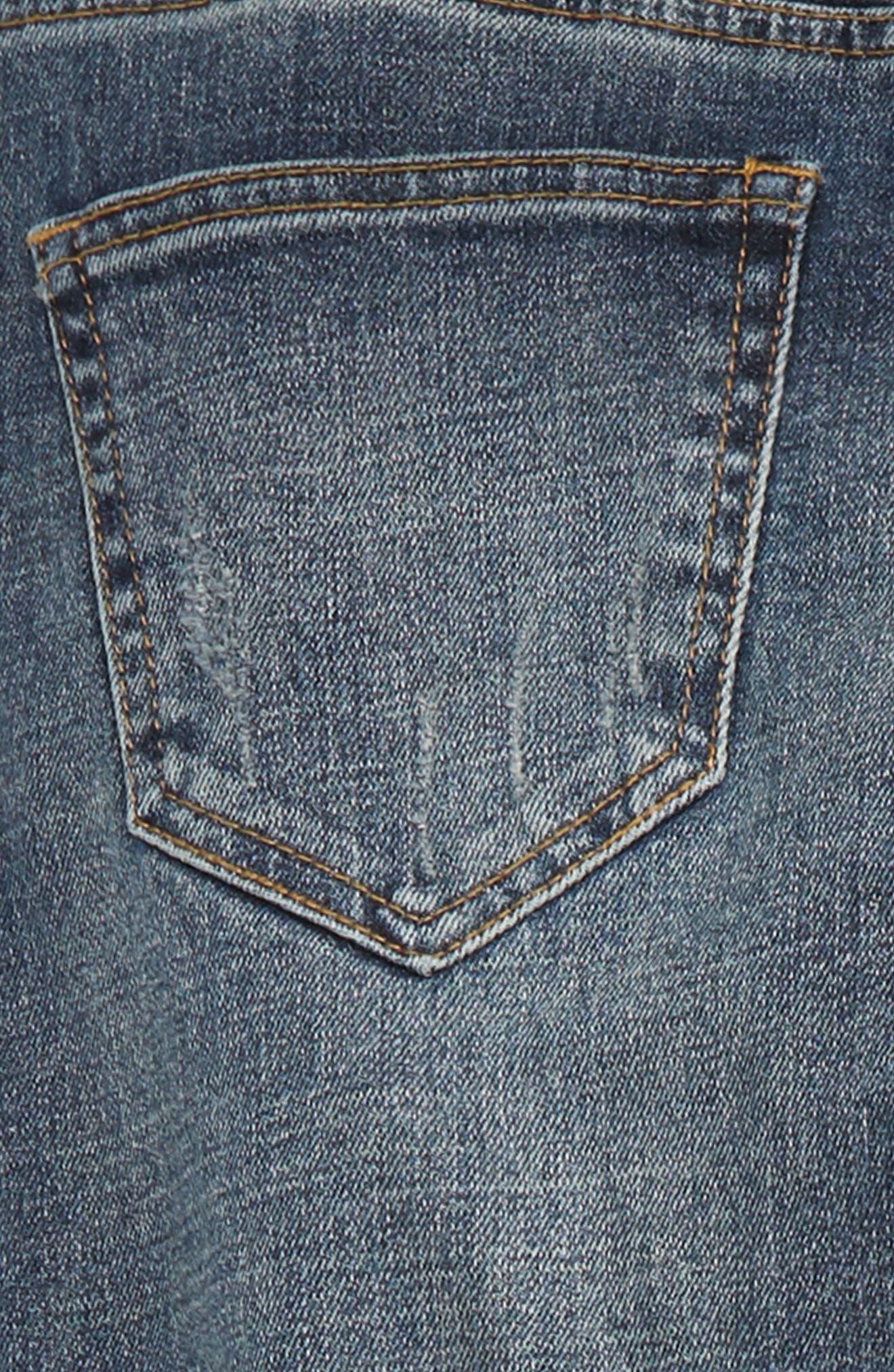 Slim Fit Jeans,                             Alternate thumbnail 3, color,                             401