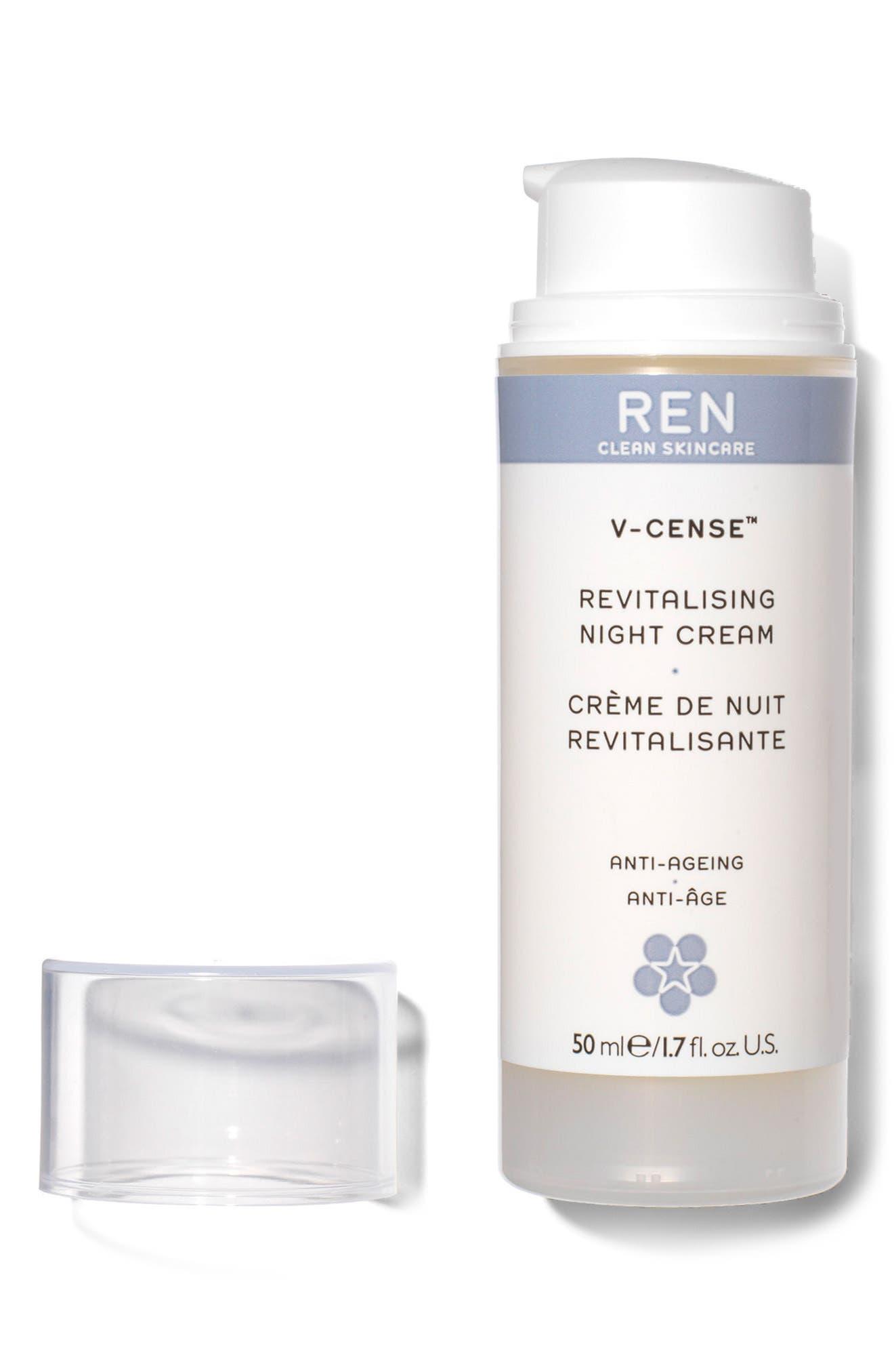 SPACE.NK.apothecary REN V-Cense<sup>™</sup> Revitalizing Night Cream,                             Alternate thumbnail 3, color,                             NO COLOR