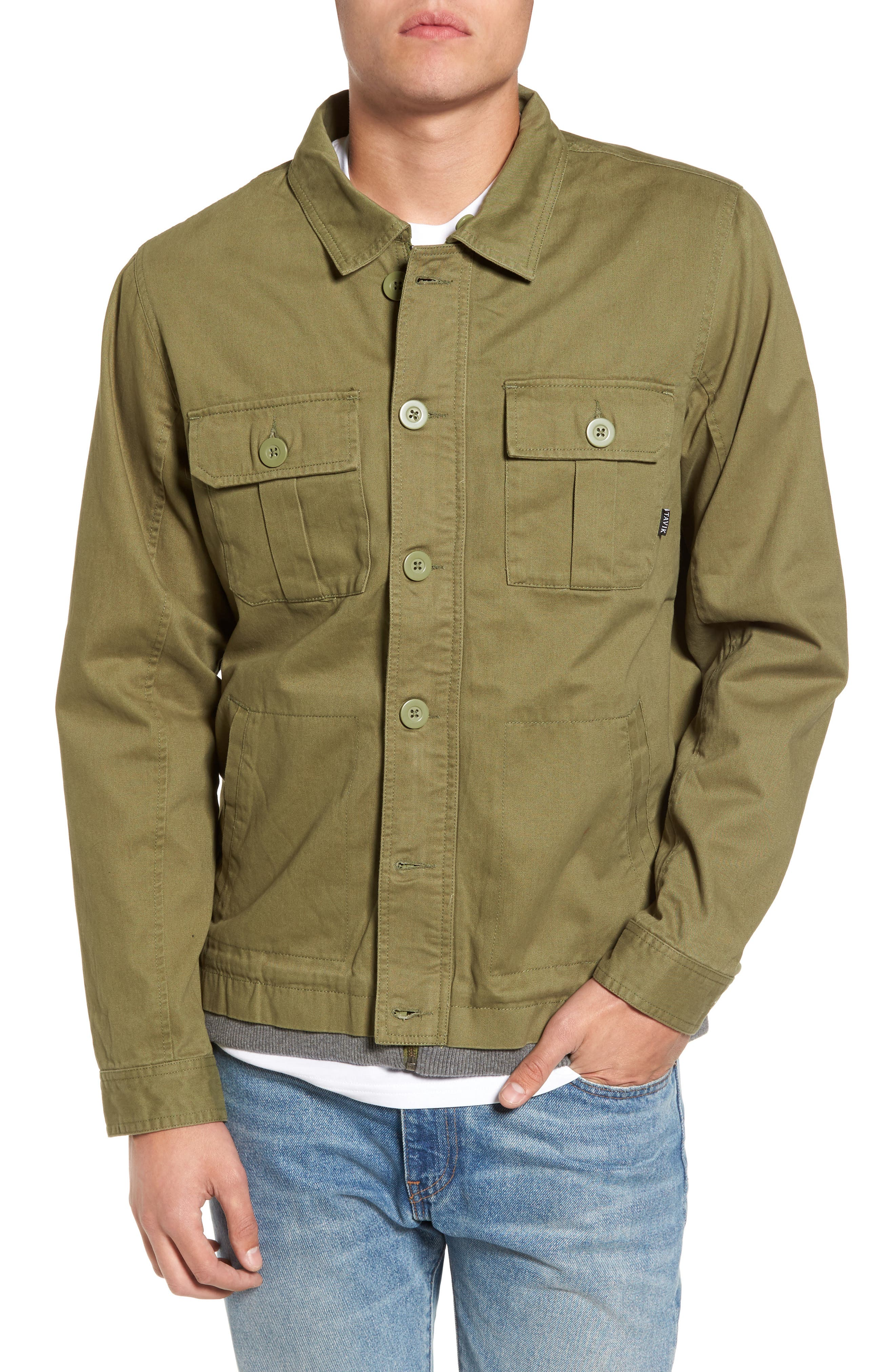 Droogs Field Jacket with Detachable Hood,                             Alternate thumbnail 4, color,                             001