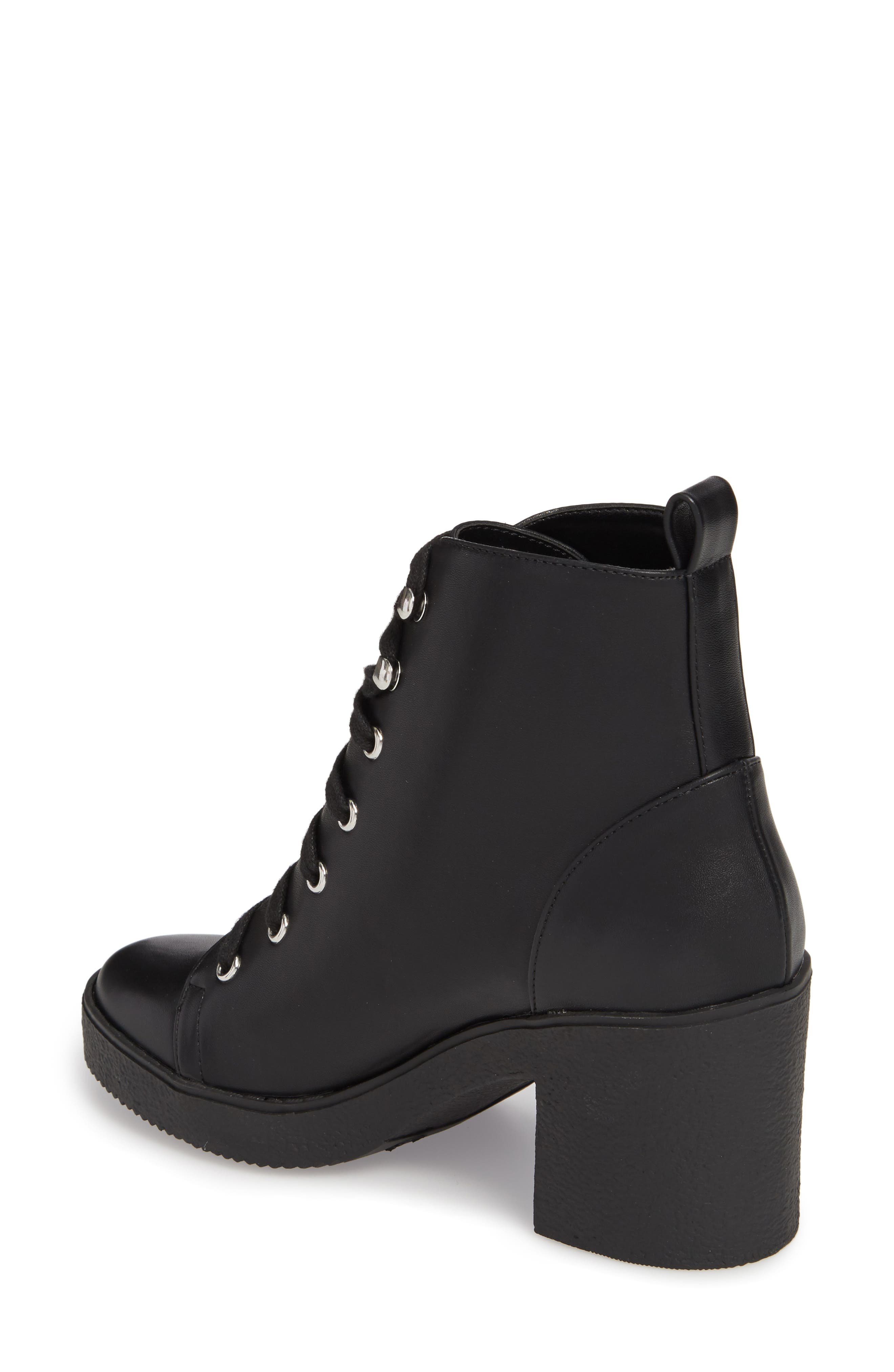 Abby Lace-Up Bootie,                             Alternate thumbnail 2, color,                             002
