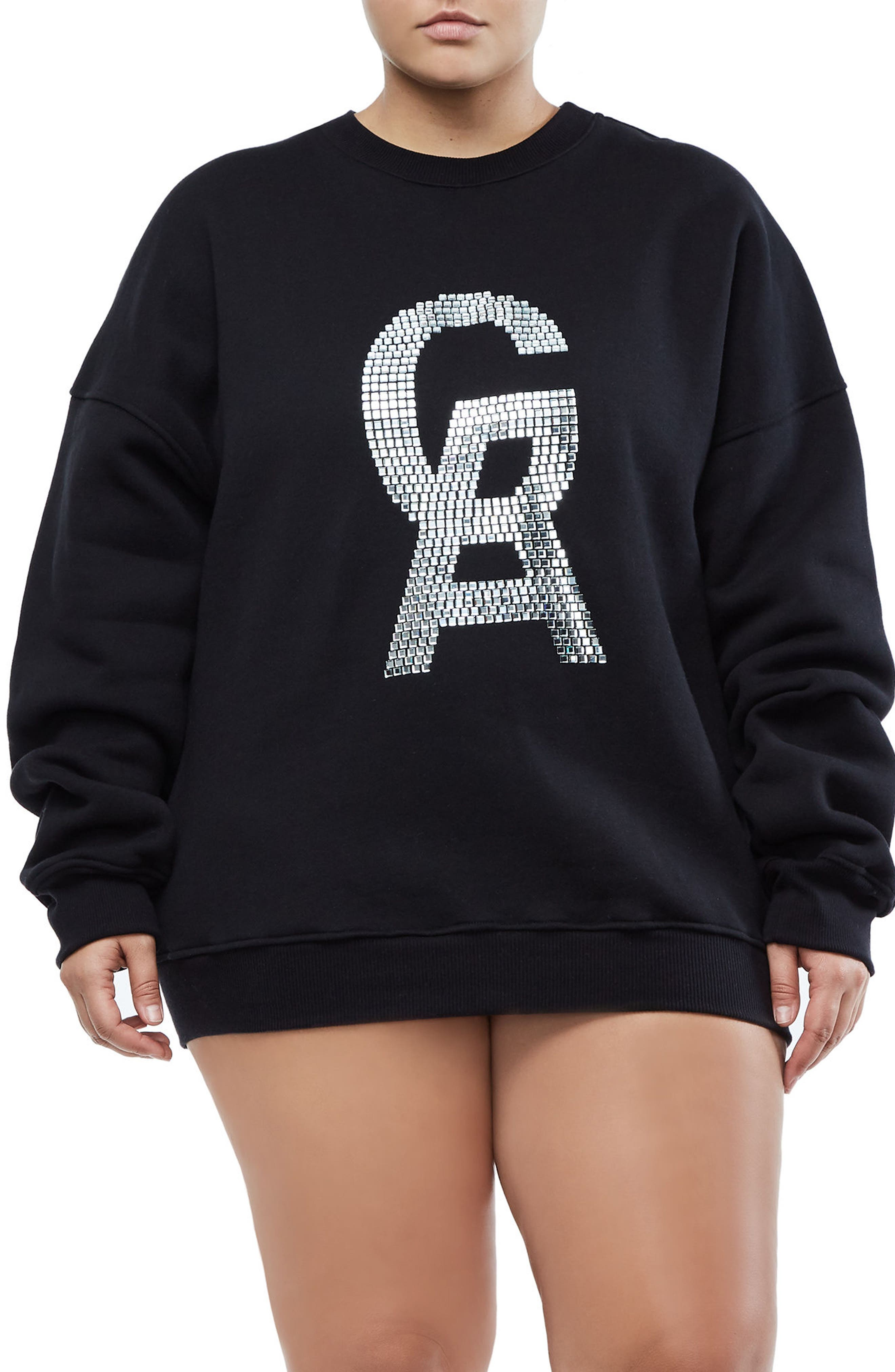 The Crystal Icon Sweatshirt,                         Main,                         color,