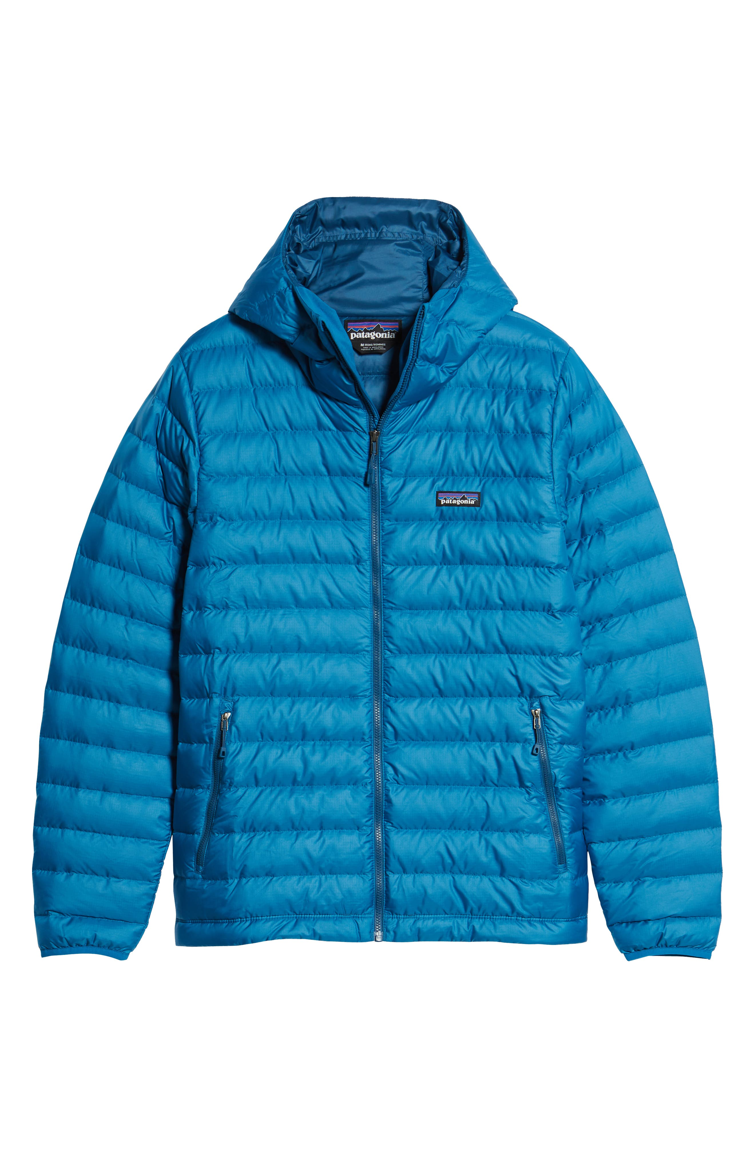 Packable Windproof & Water Resistant Goose Down Sweater Hooded Jacket,                             Alternate thumbnail 30, color,
