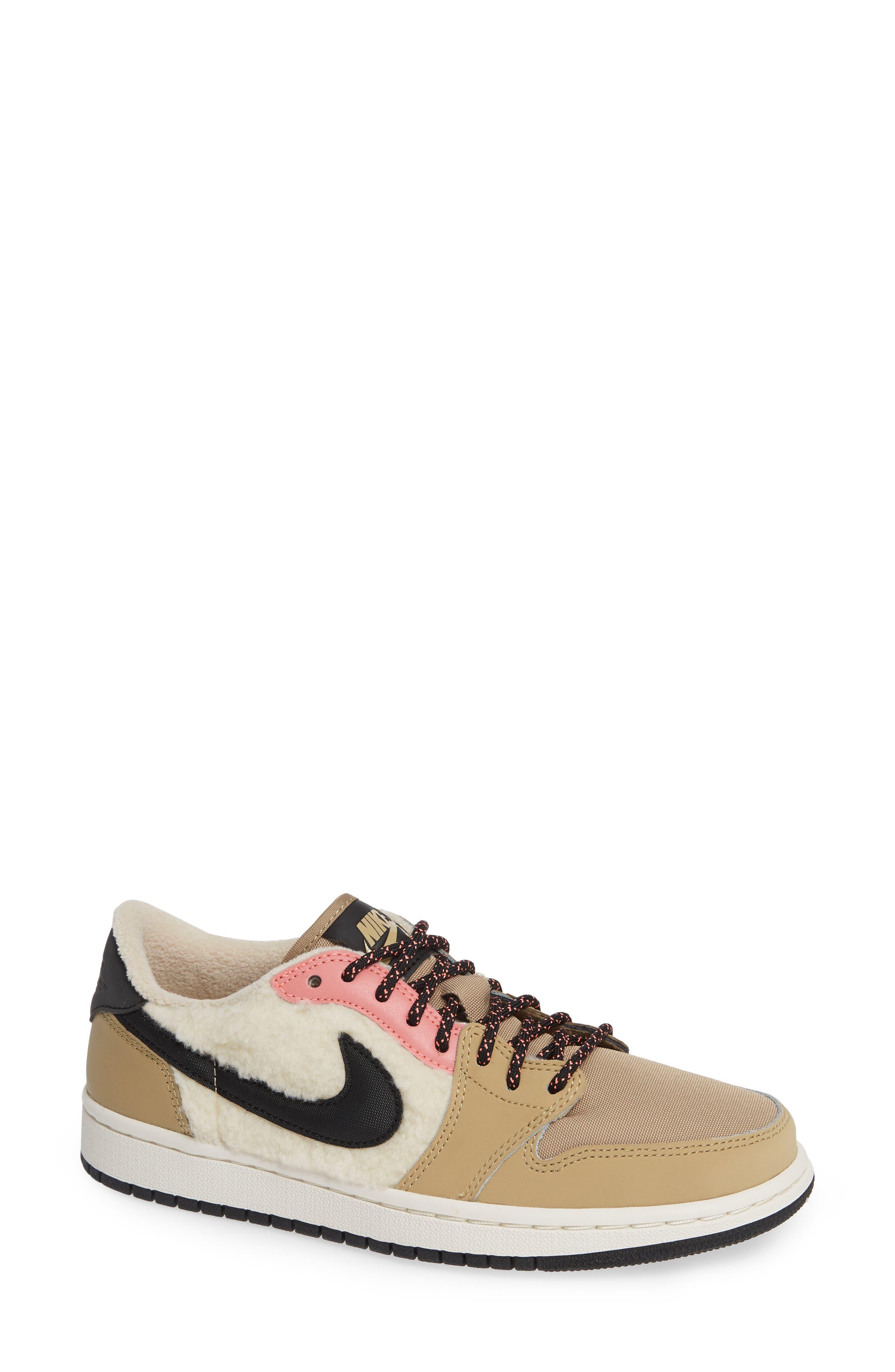 NIKE,                             Air Jordan 1 Retro Low OG Sneaker,                             Main thumbnail 1, color,                             200