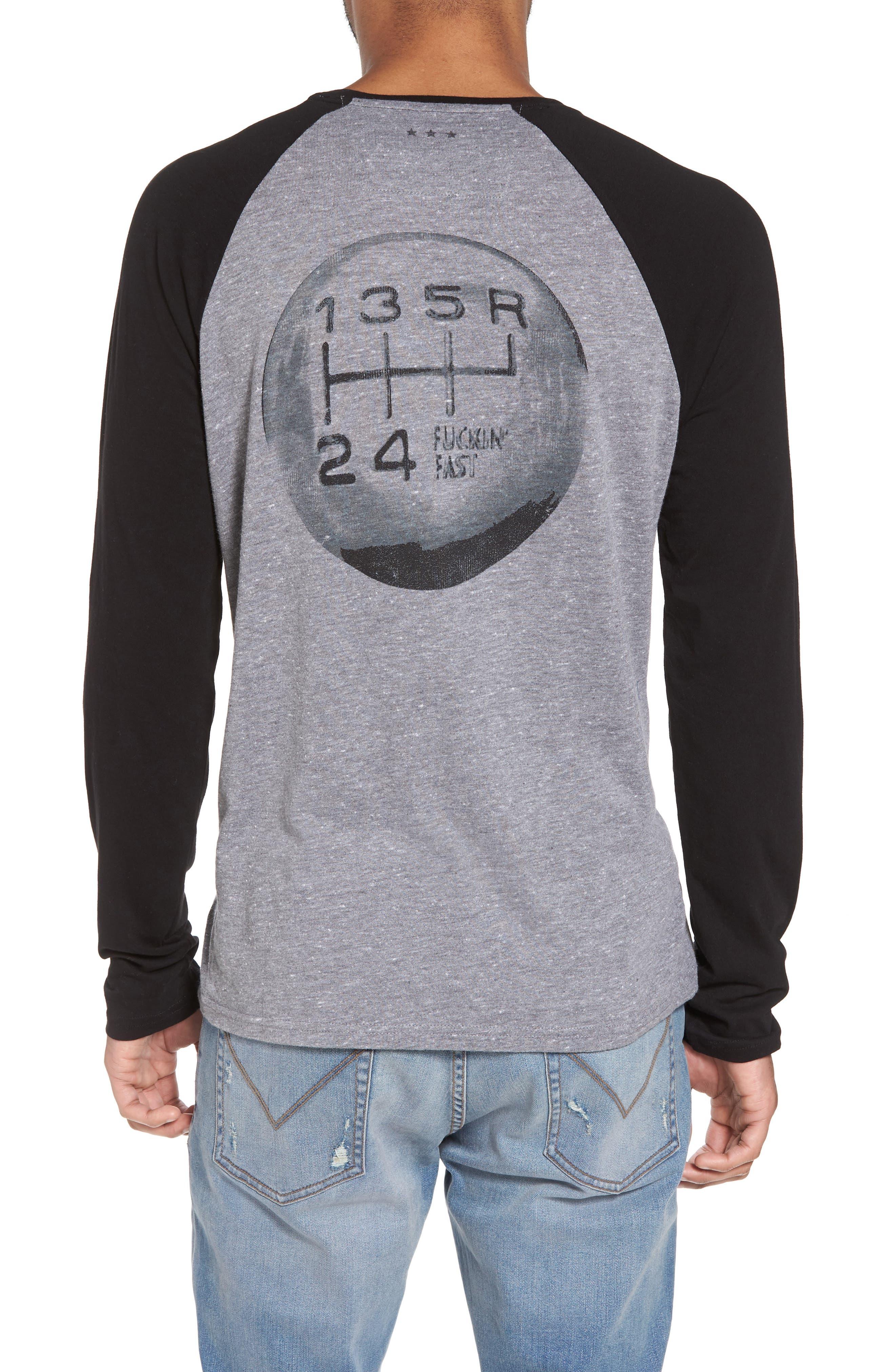 Detroit Cars Baseball T-Shirt,                             Alternate thumbnail 2, color,                             073