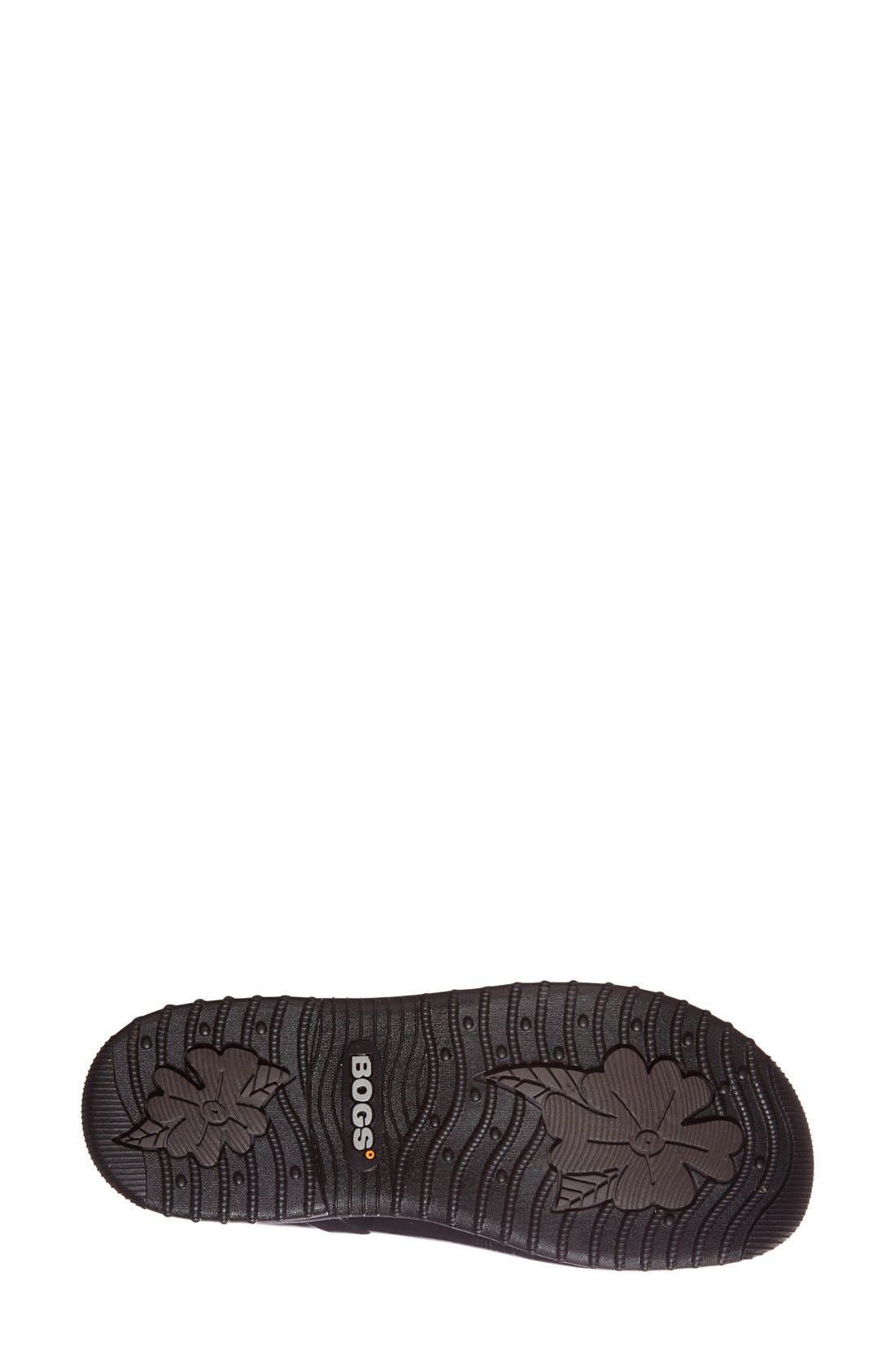 'Seattle' Waterproof Short Boot,                             Alternate thumbnail 4, color,                             BLACK