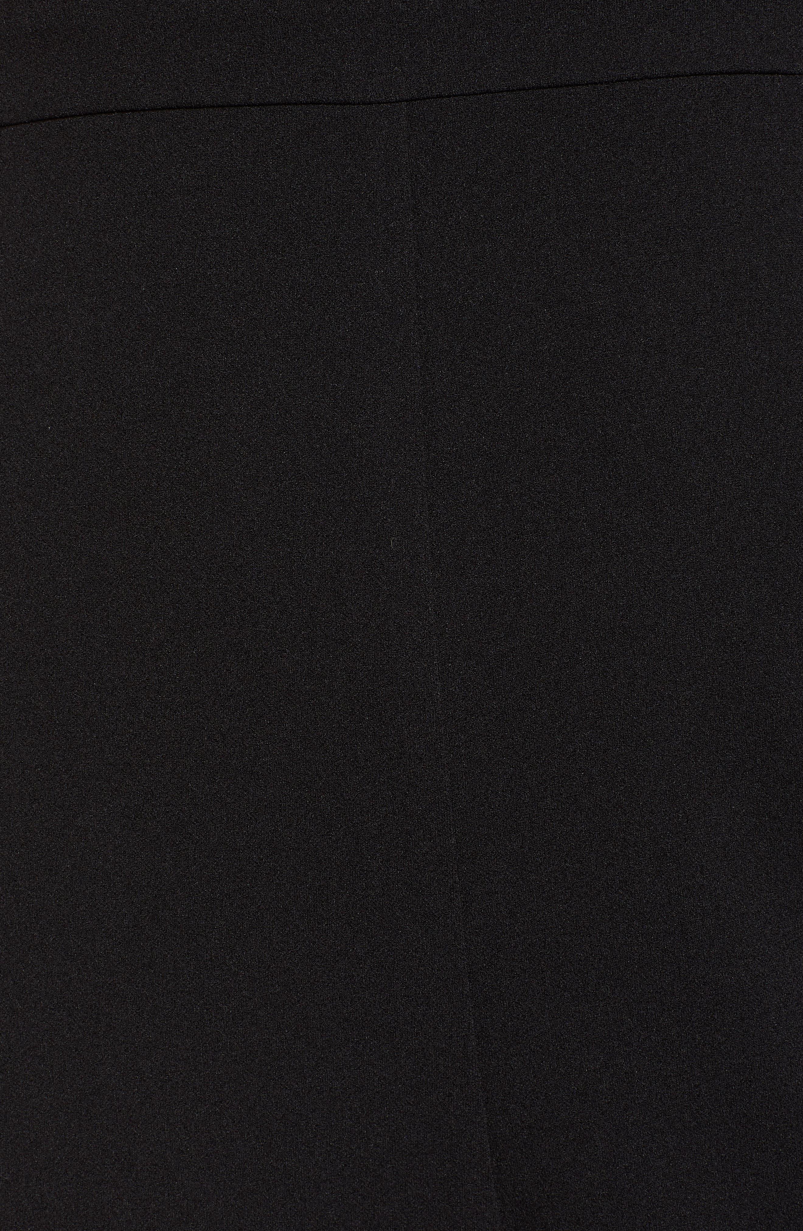 Love, Nicki Lew Lace Detail Jumpsuit,                             Alternate thumbnail 6, color,                             BLACK