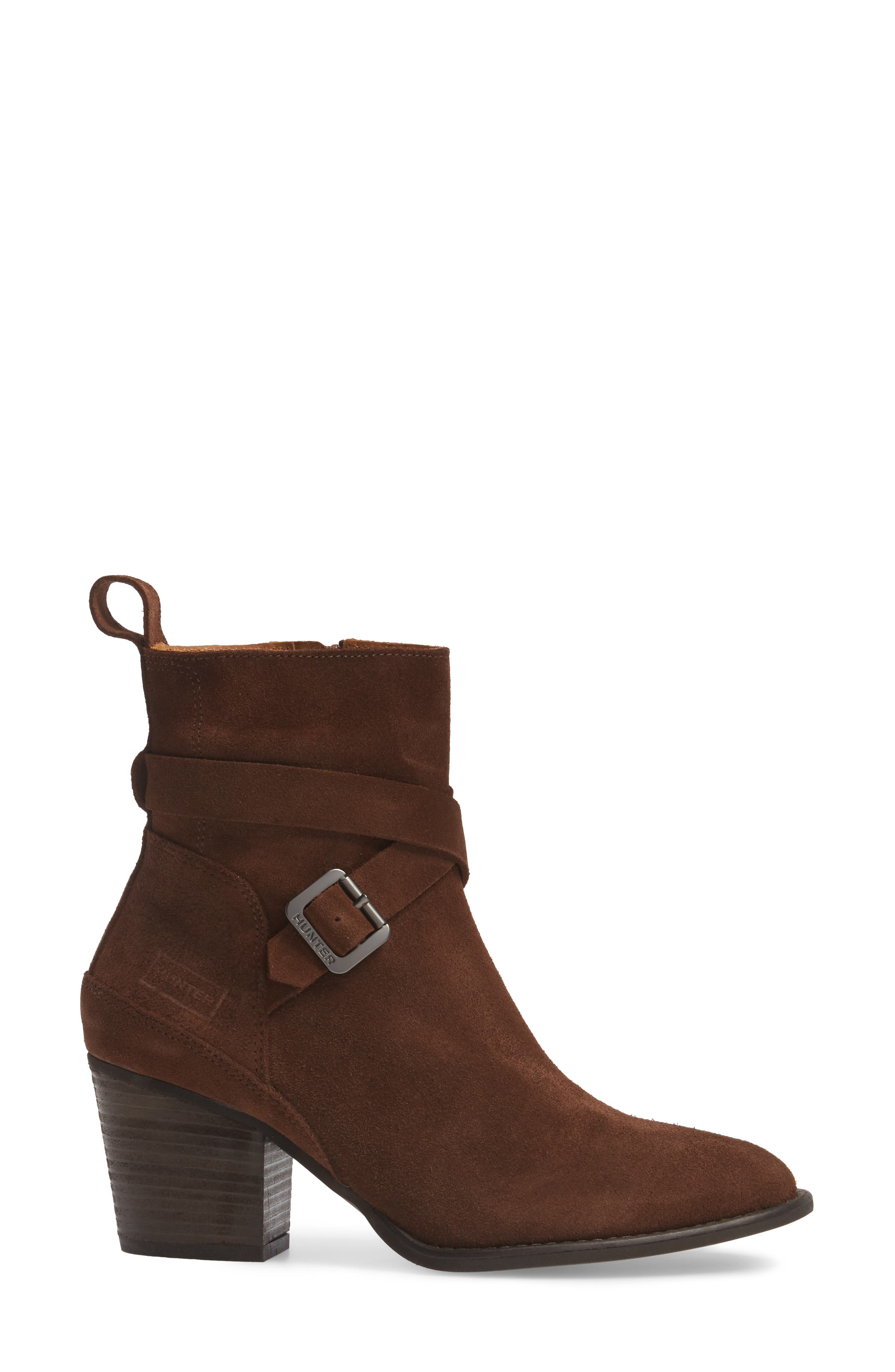 Refined Water Resistant Strappy Boot,                             Alternate thumbnail 5, color,