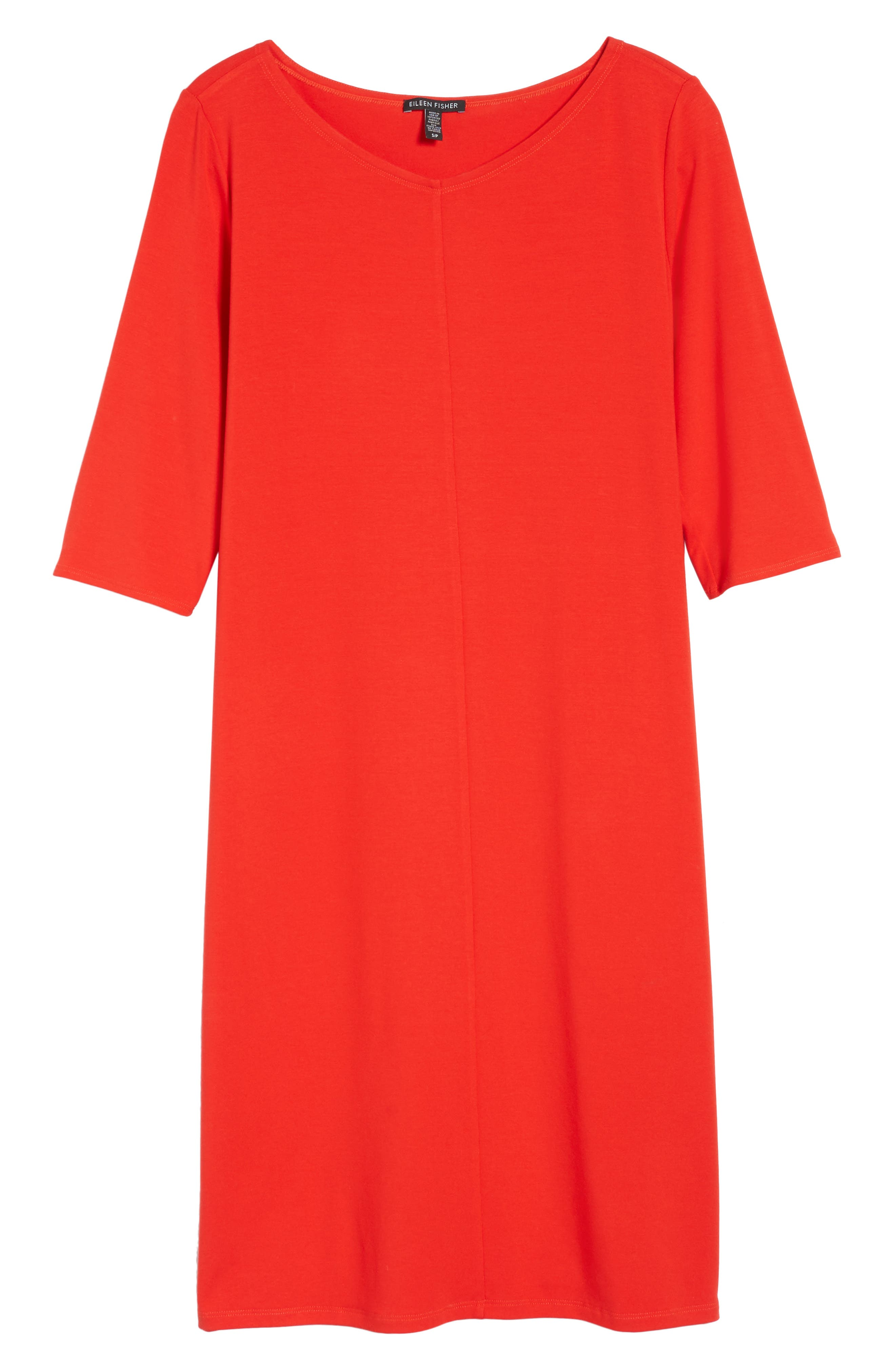 Jersey Shift Dress,                             Alternate thumbnail 18, color,