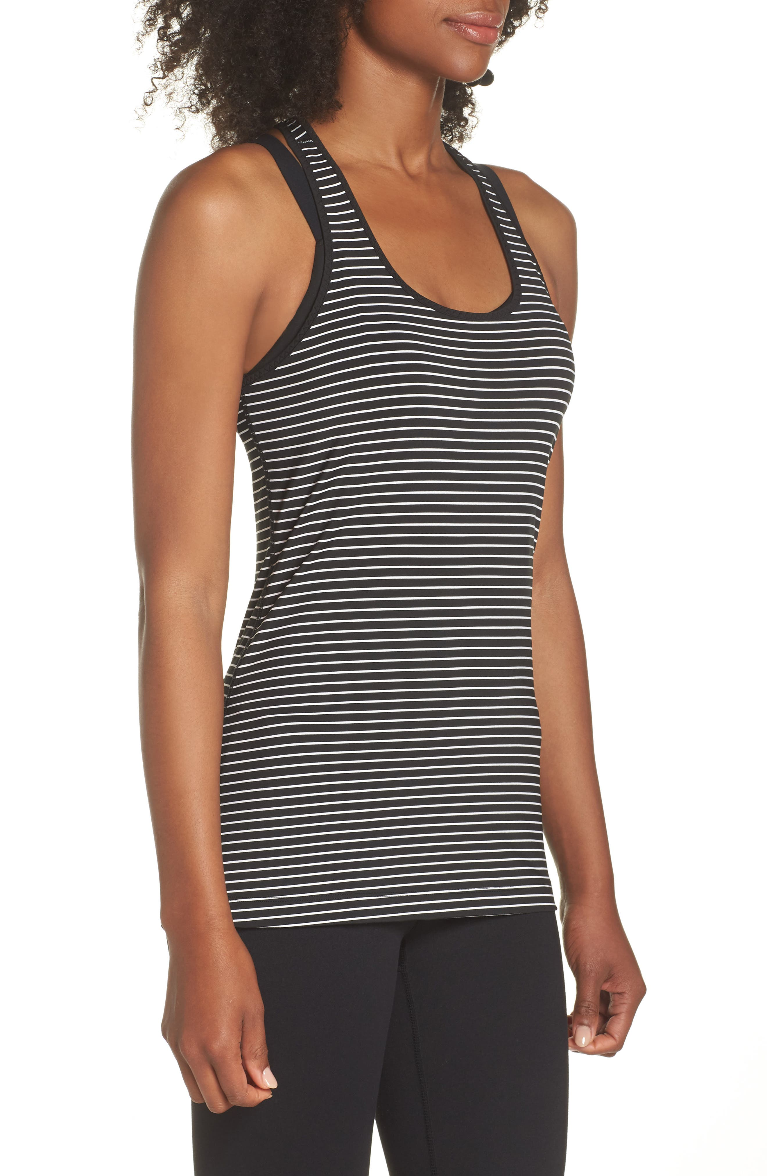 'Go-To' Racerback Tank,                             Alternate thumbnail 3, color,                             120