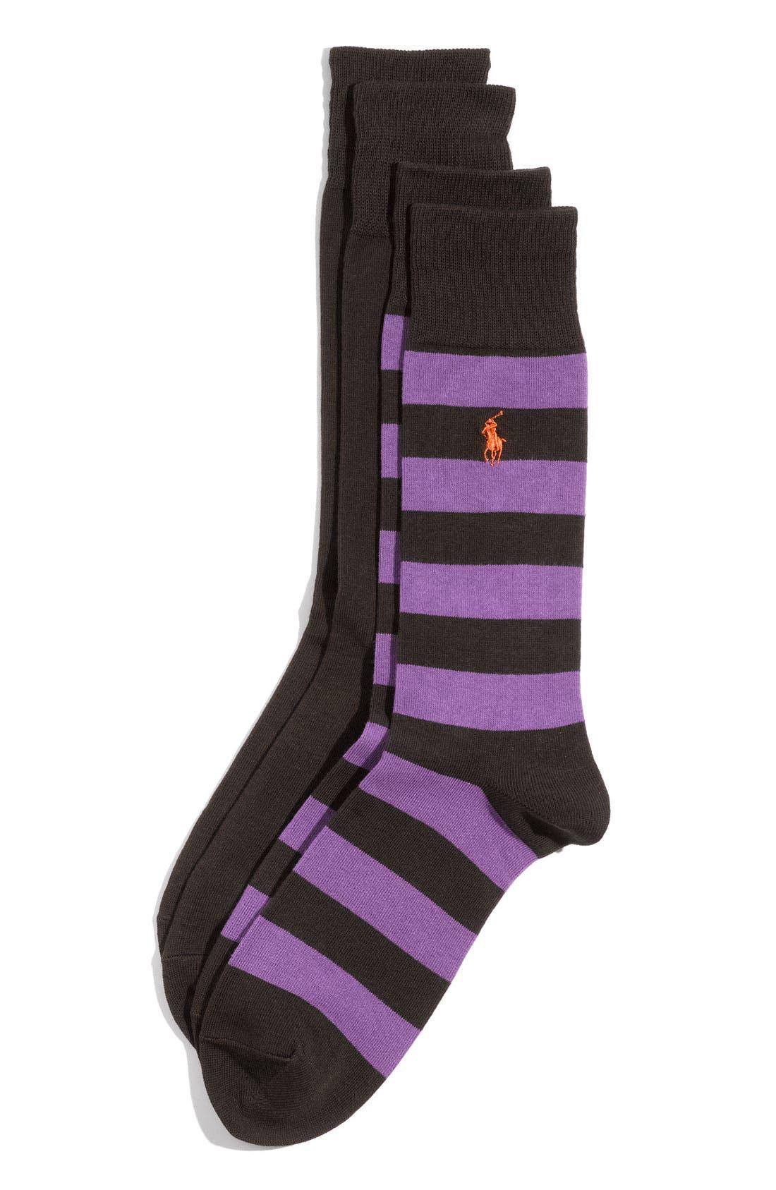 Cotton Blend Socks,                             Main thumbnail 5, color,