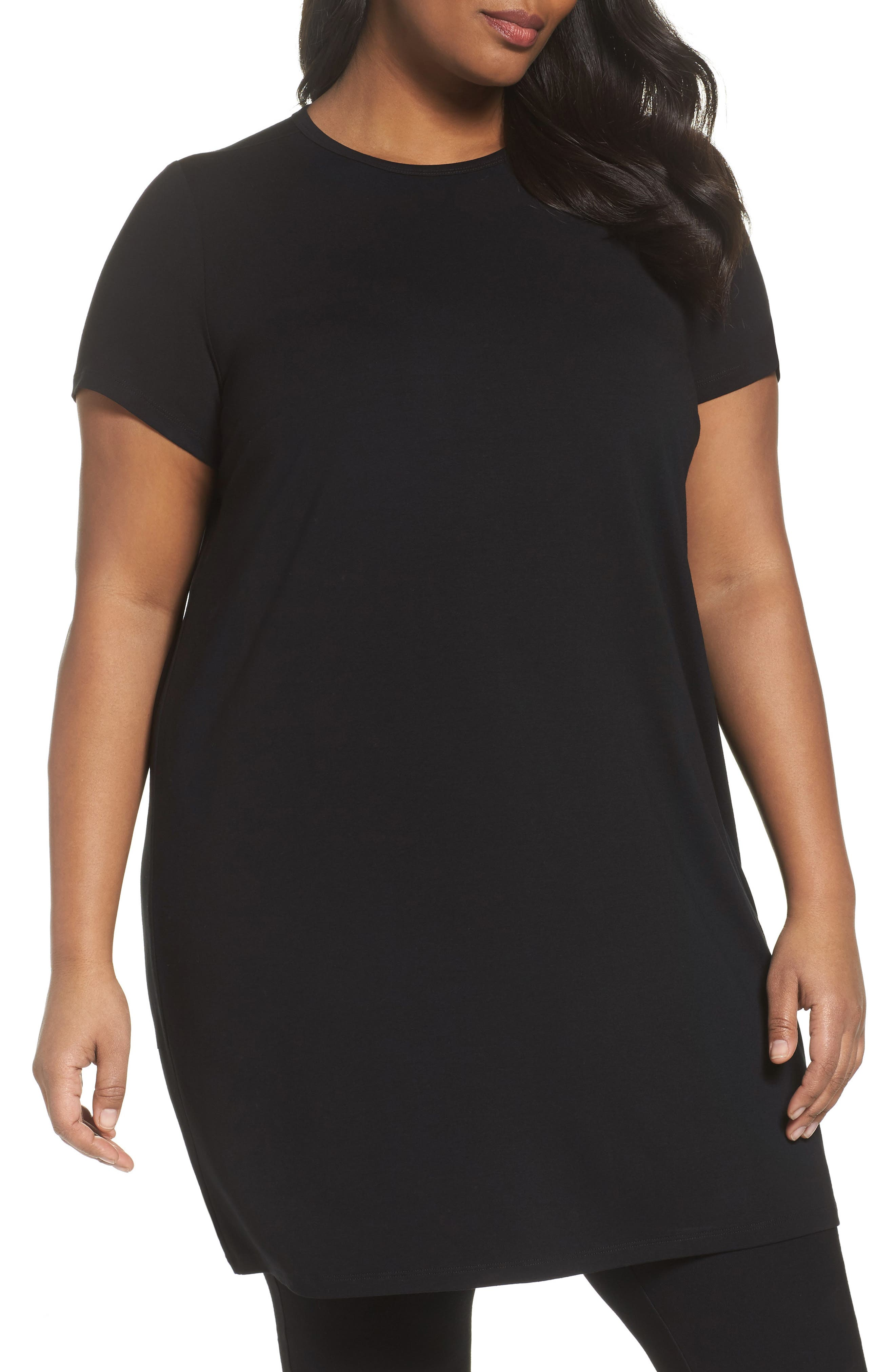 Jersey Shift Dress,                         Main,                         color, 001