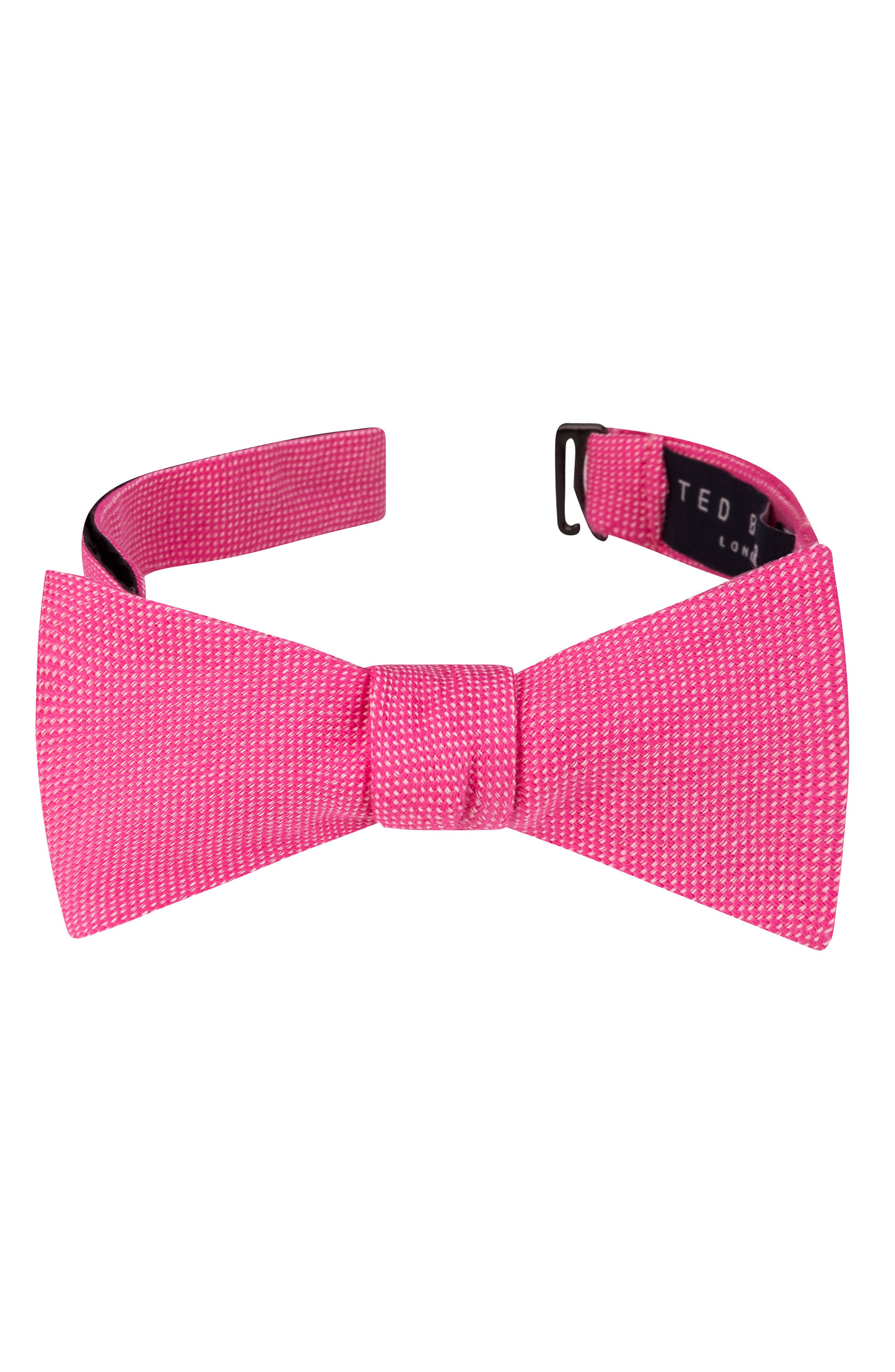 Solid Cotton Bow Tie,                             Main thumbnail 6, color,