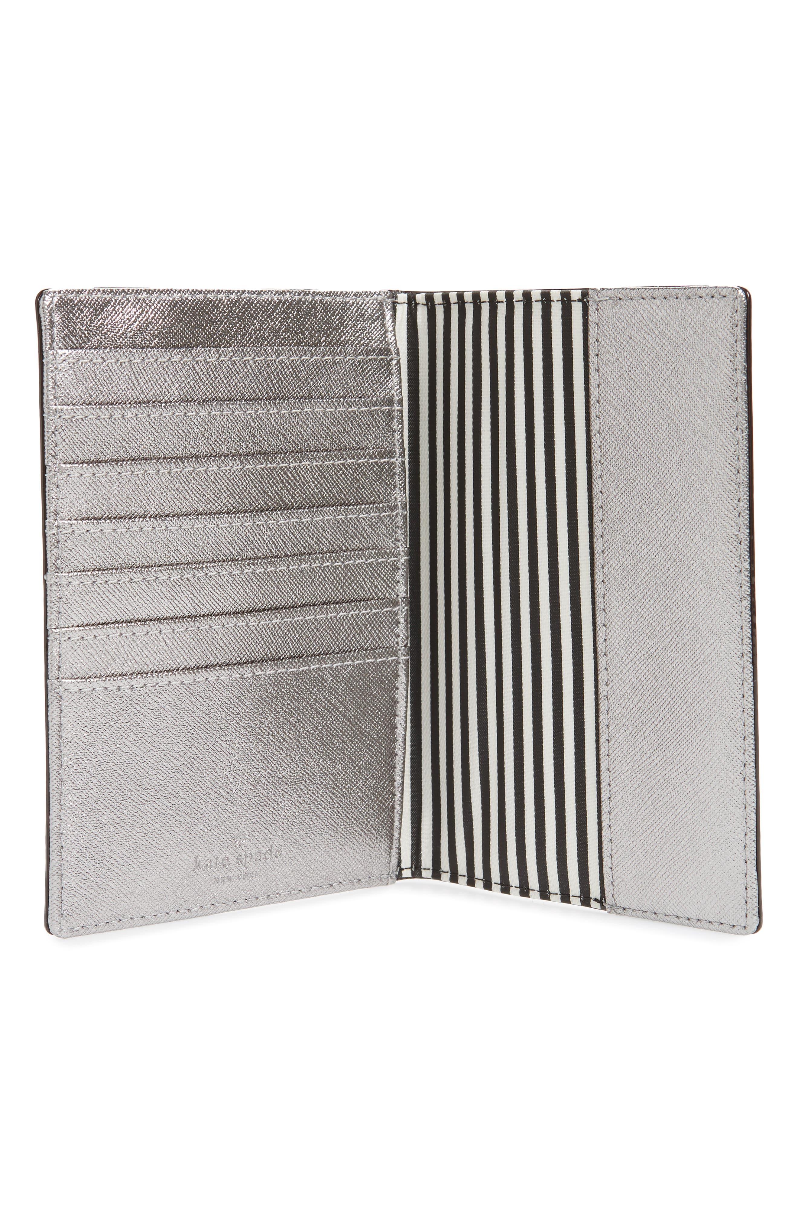 'cameron street' leather passport holder,                             Alternate thumbnail 2, color,                             040