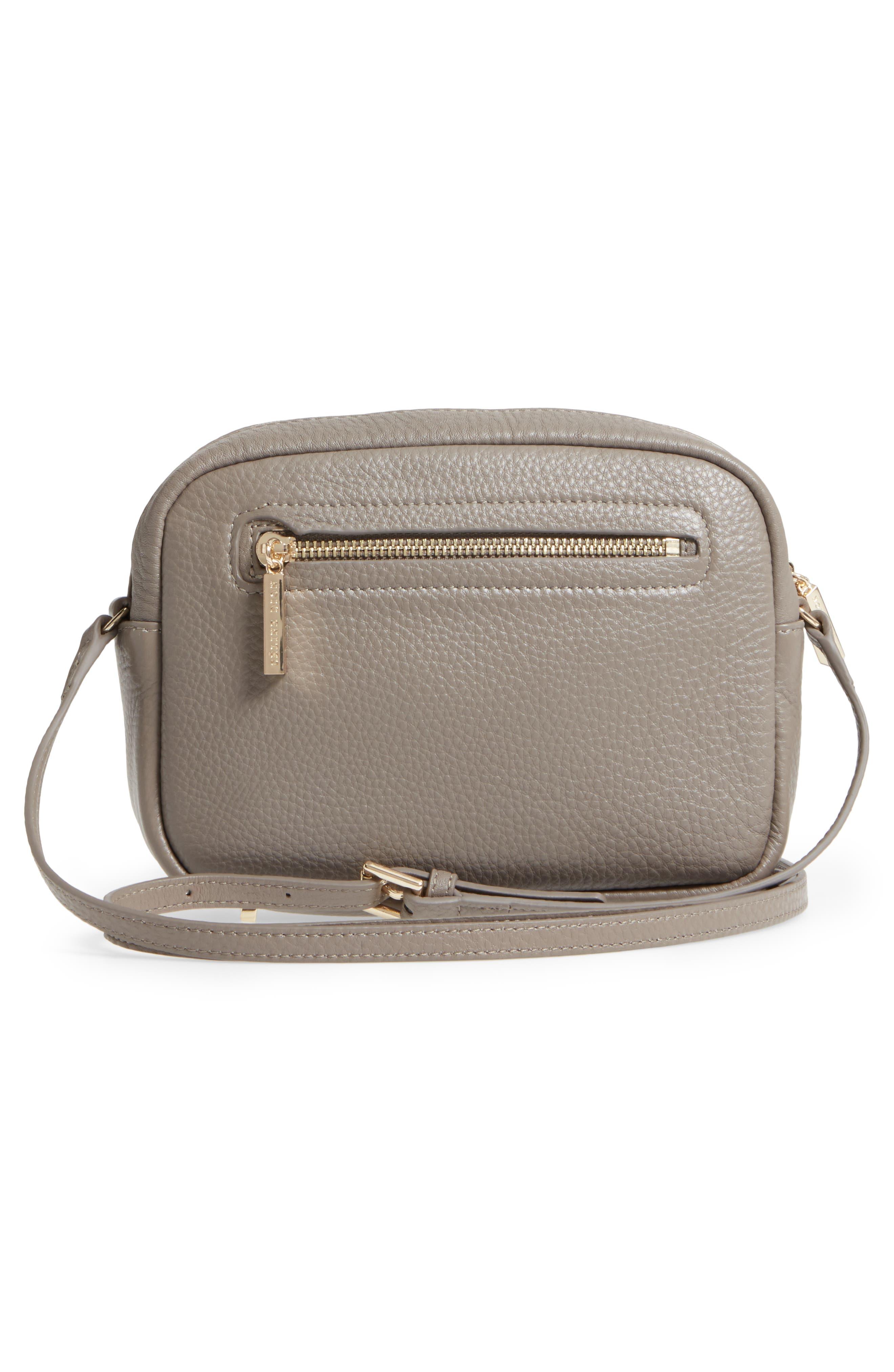Céline Dion Adagio Leather Camera Crossbody Bag,                             Alternate thumbnail 9, color,