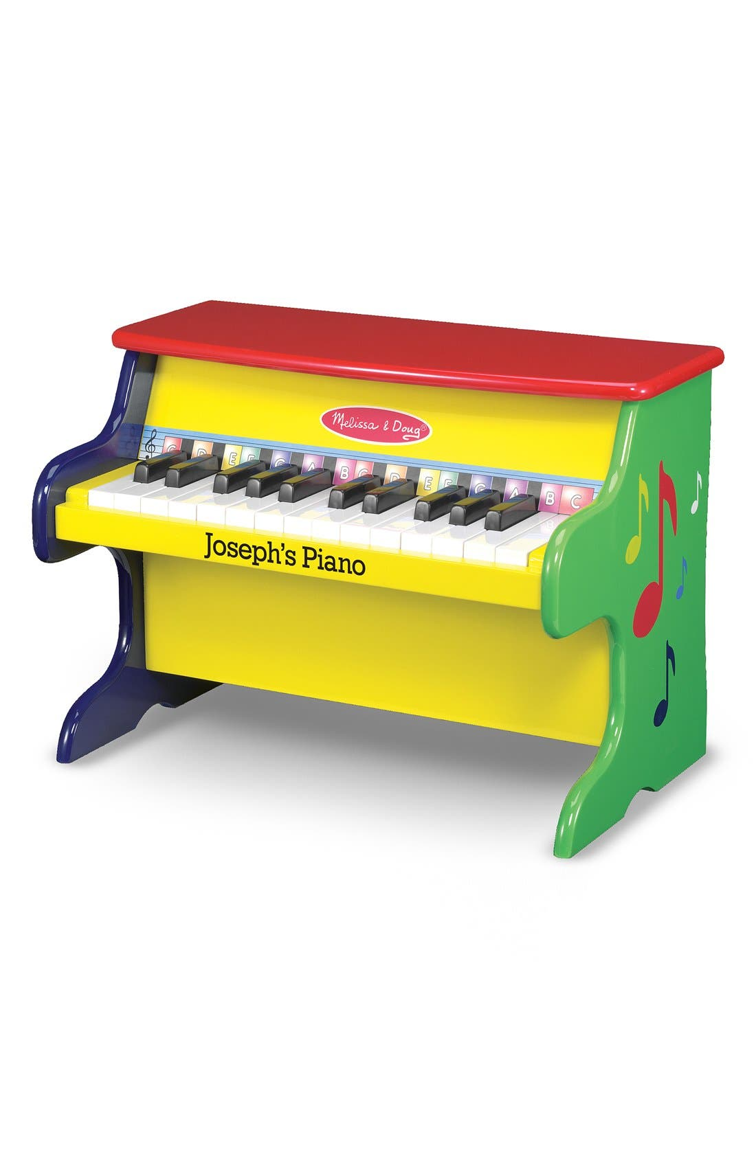 'Learn-to-Play' Personalized Piano,                             Alternate thumbnail 3, color,                             700