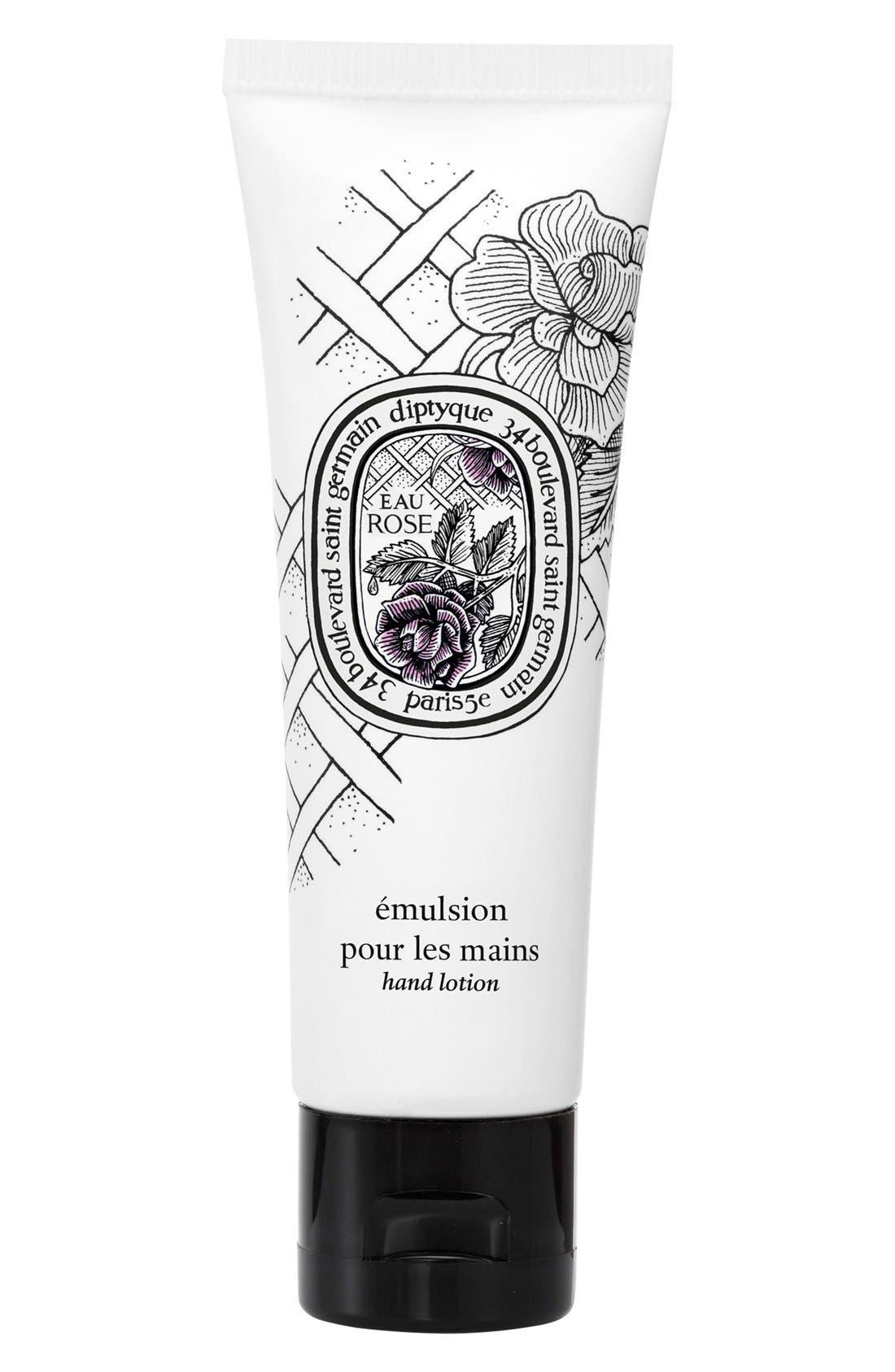 Eau Rose Hand Cream, Main, color, 000