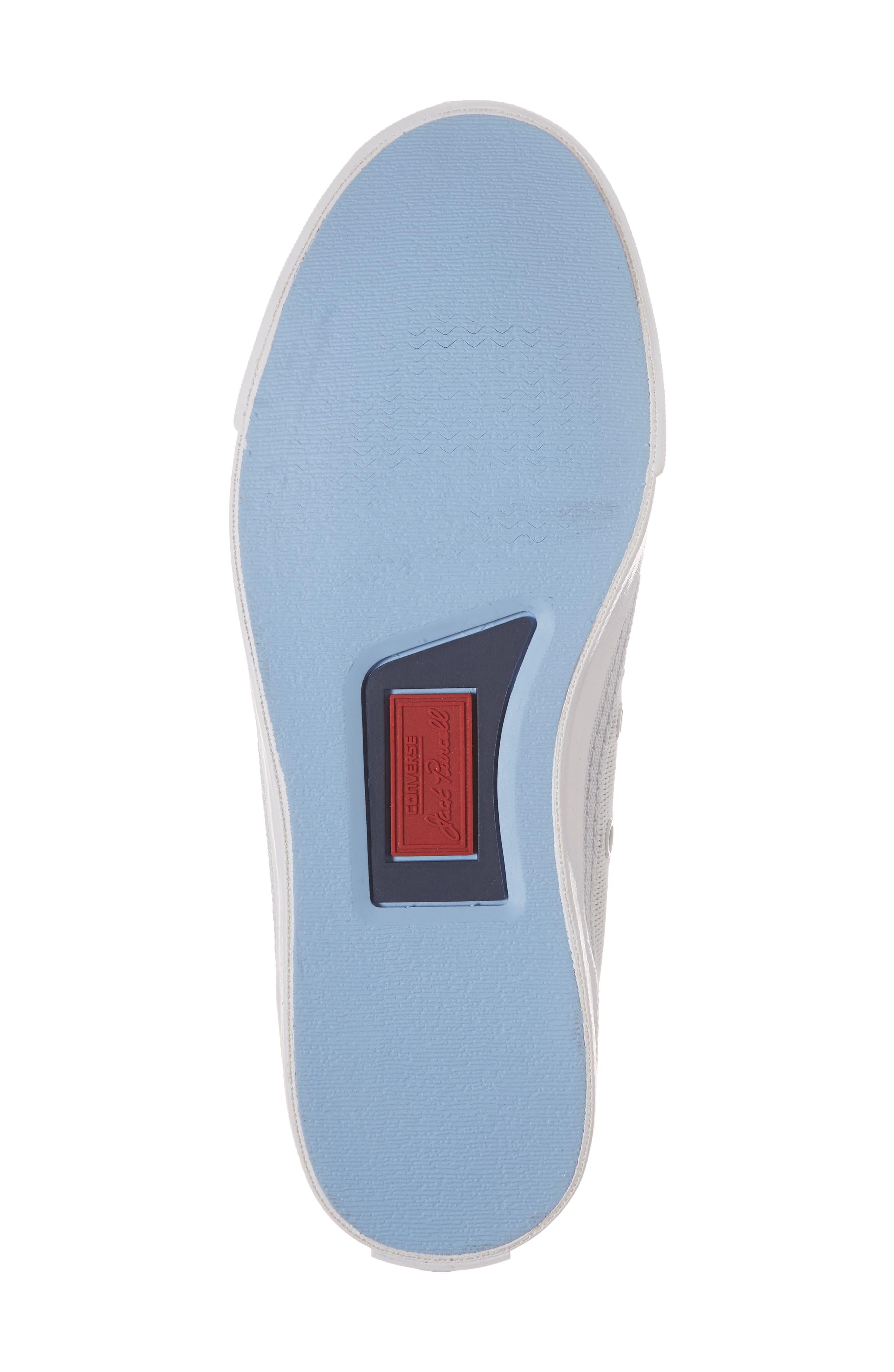 Jack Purcell Low Top Sneaker,                             Alternate thumbnail 6, color,                             PURE PLATINUM