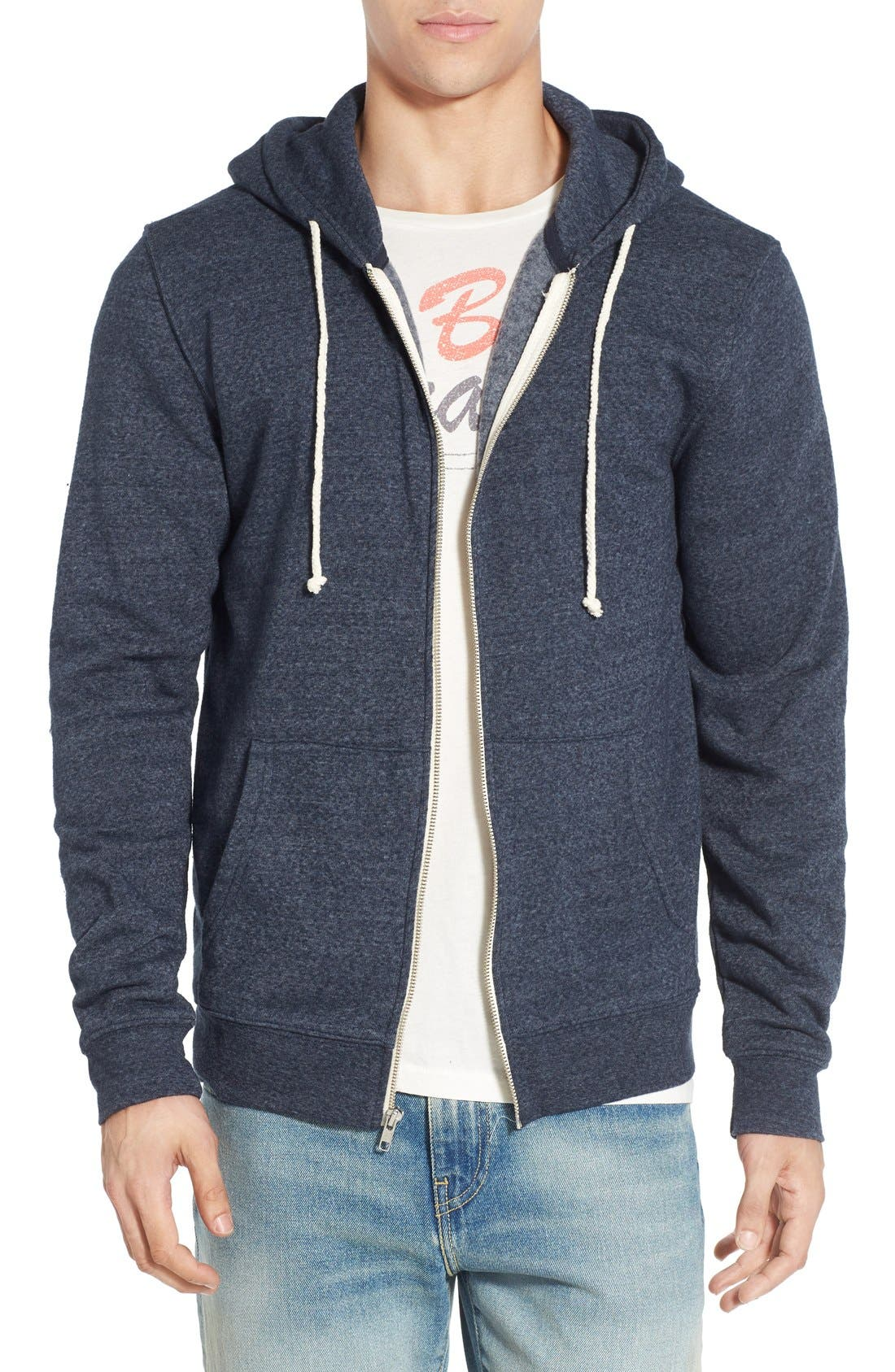 Threads for Thought Trim Fit Heathered Hoodie,                             Main thumbnail 23, color,