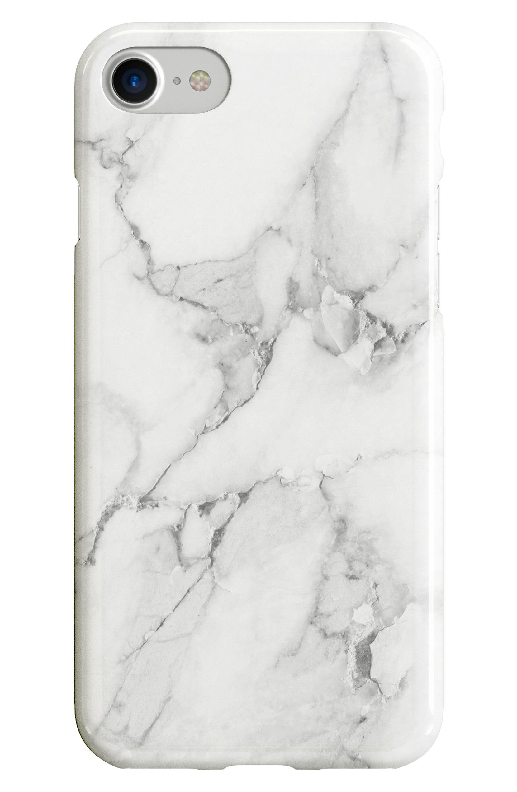 Recover White Marble iPhone 6/6s/7/8 & 6/6s/7/8 Plus Case   Nordstrom