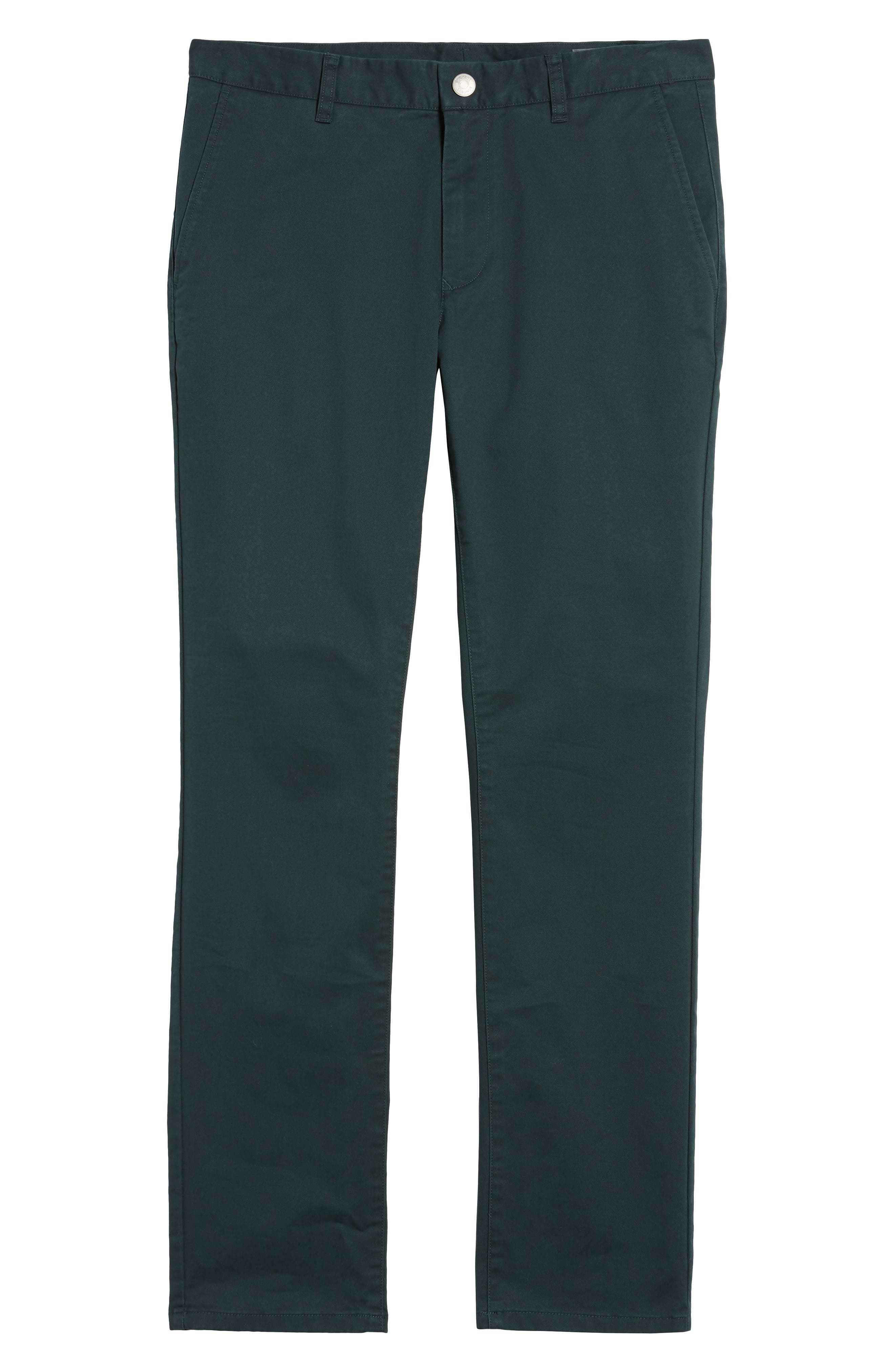 Tailored Fit Washed Stretch Cotton Chinos,                             Alternate thumbnail 188, color,
