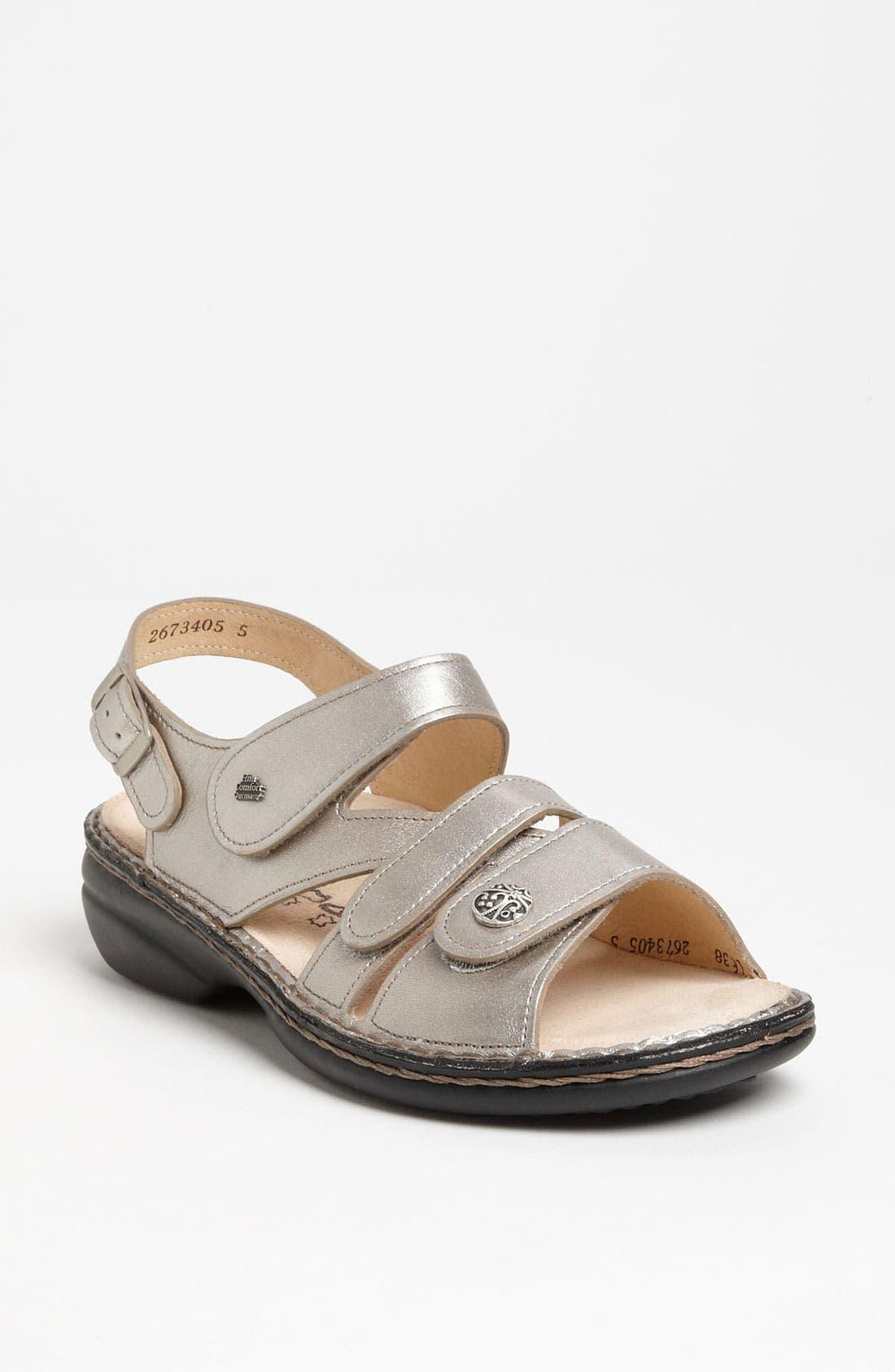 'Gomera' Sandal,                             Main thumbnail 1, color,                             SMOG