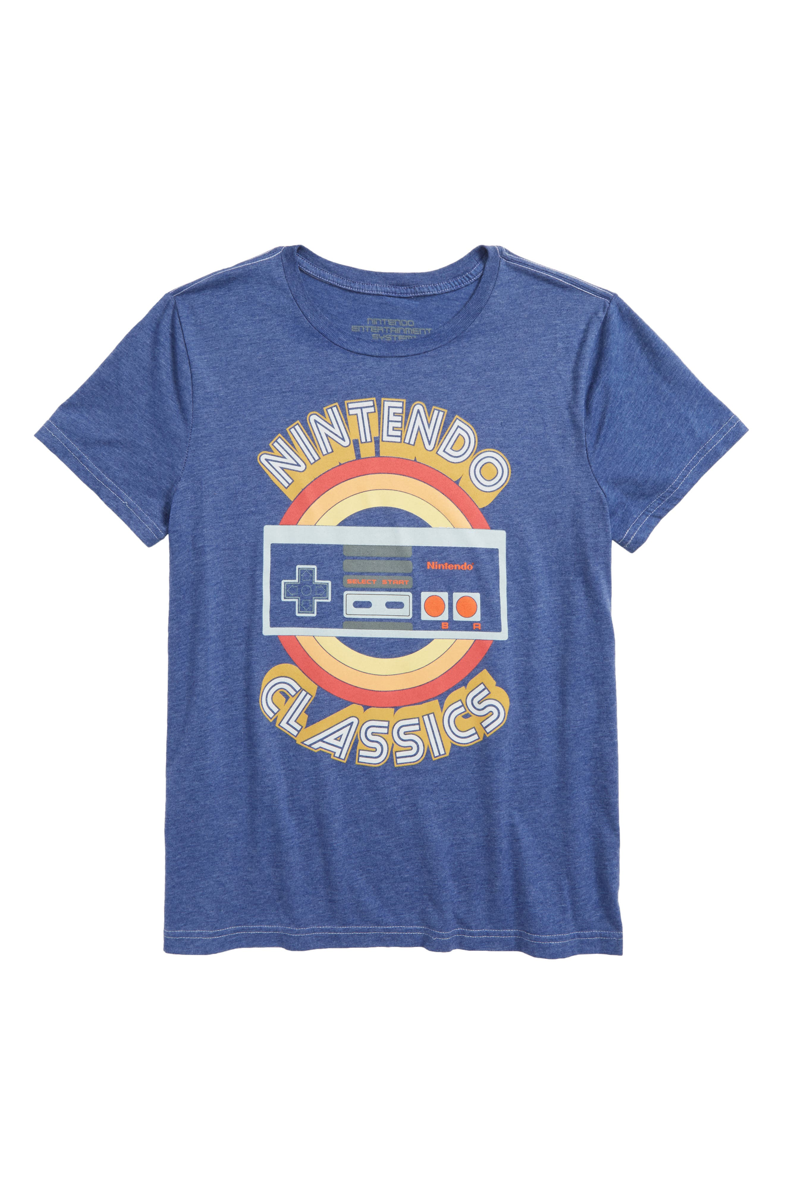 Nintendo Entertainment System<sup>®</sup> Classics Graphic T-Shirt,                             Main thumbnail 1, color,                             428