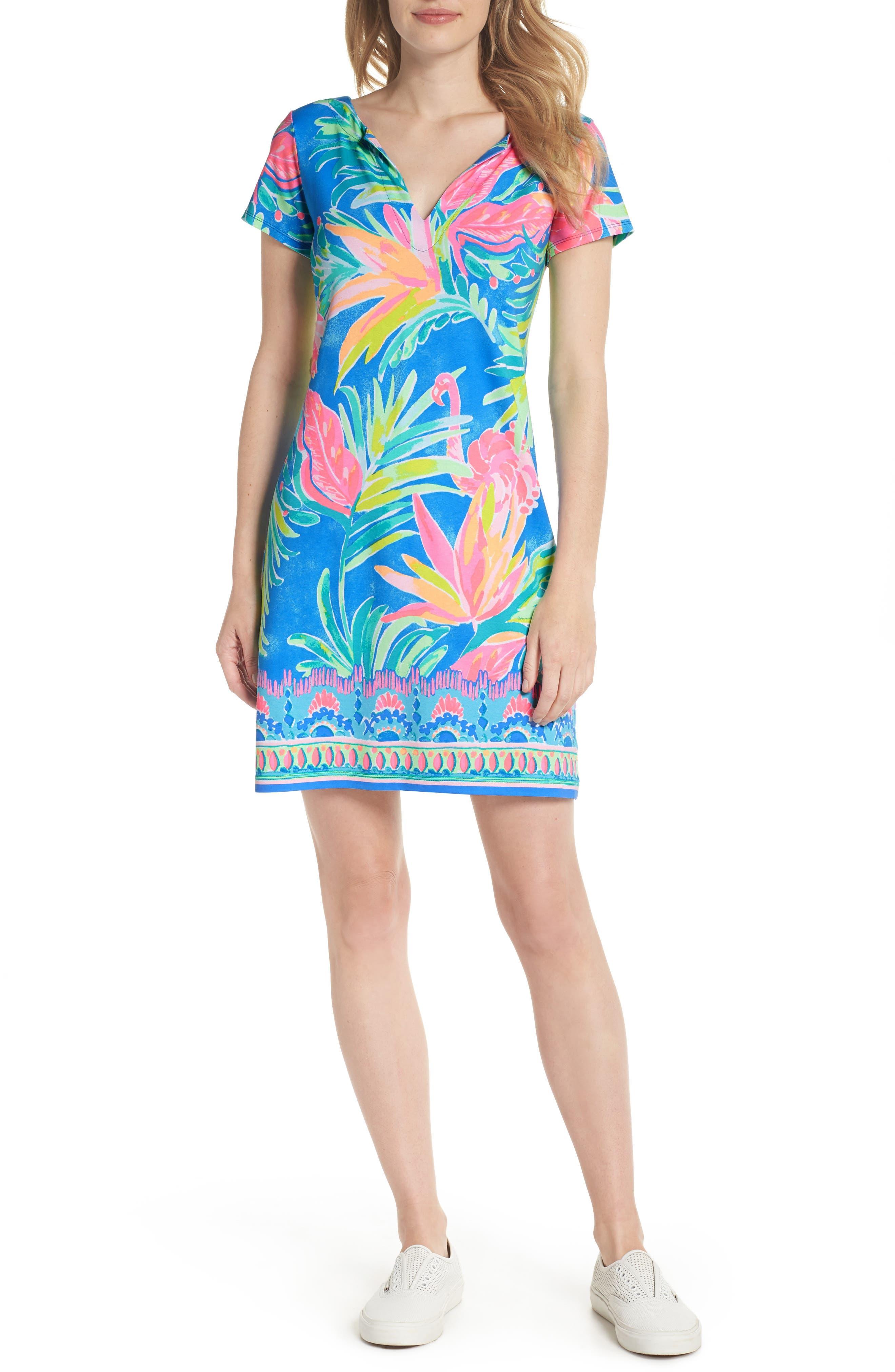 Sophiletta UPF 50+ Dress,                         Main,                         color, 420