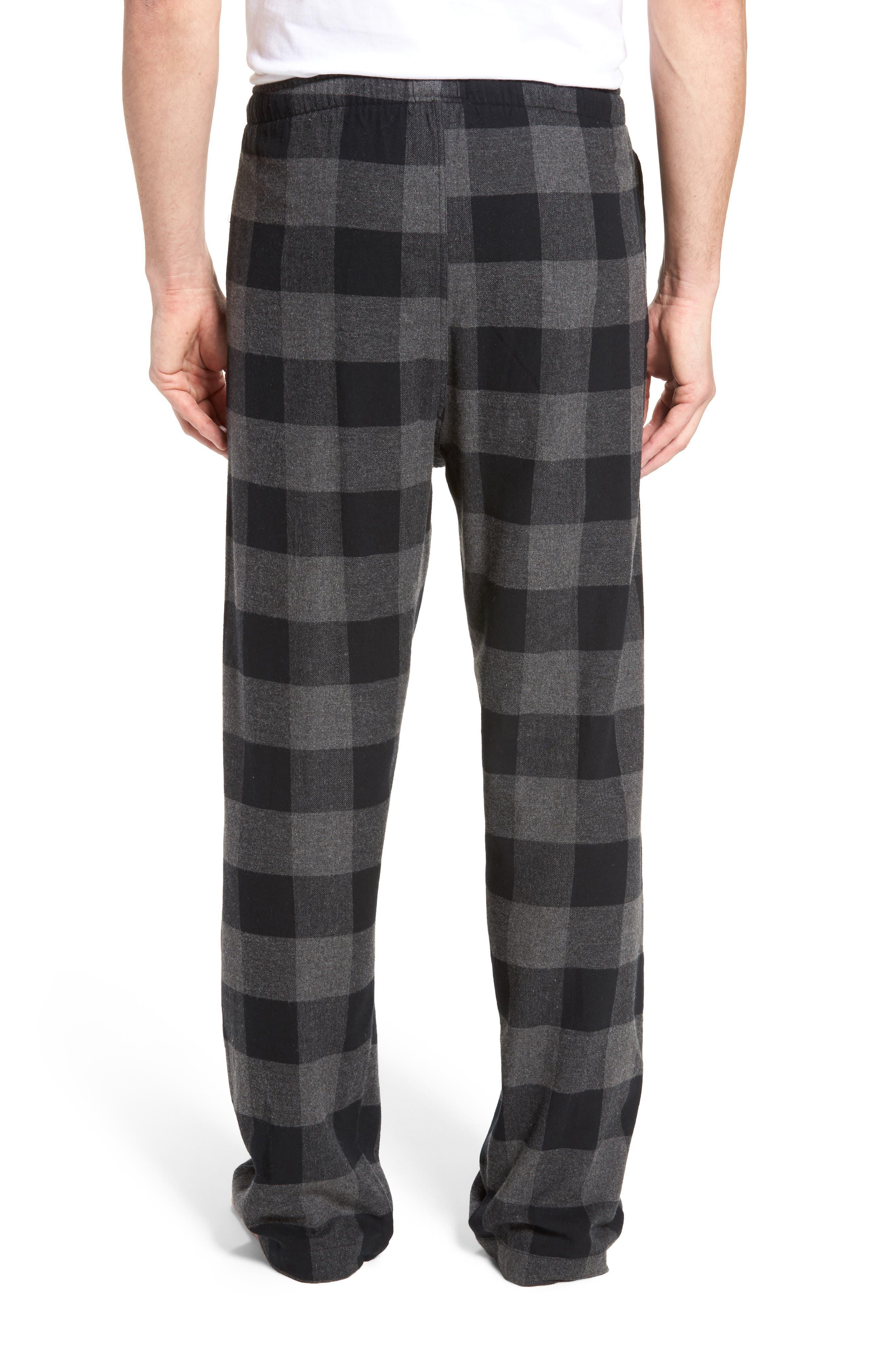 Flannel Pajama Pants,                             Alternate thumbnail 16, color,