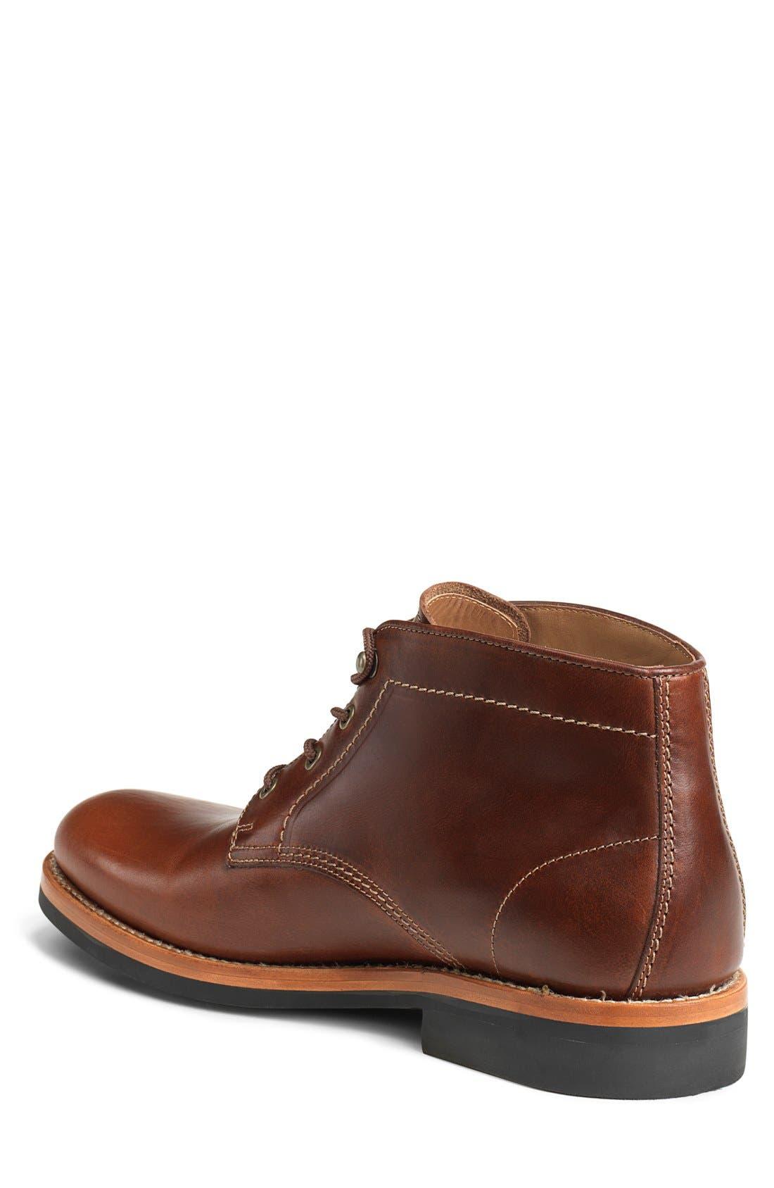 'Irving Mid' Plain Toe Boot,                             Alternate thumbnail 4, color,