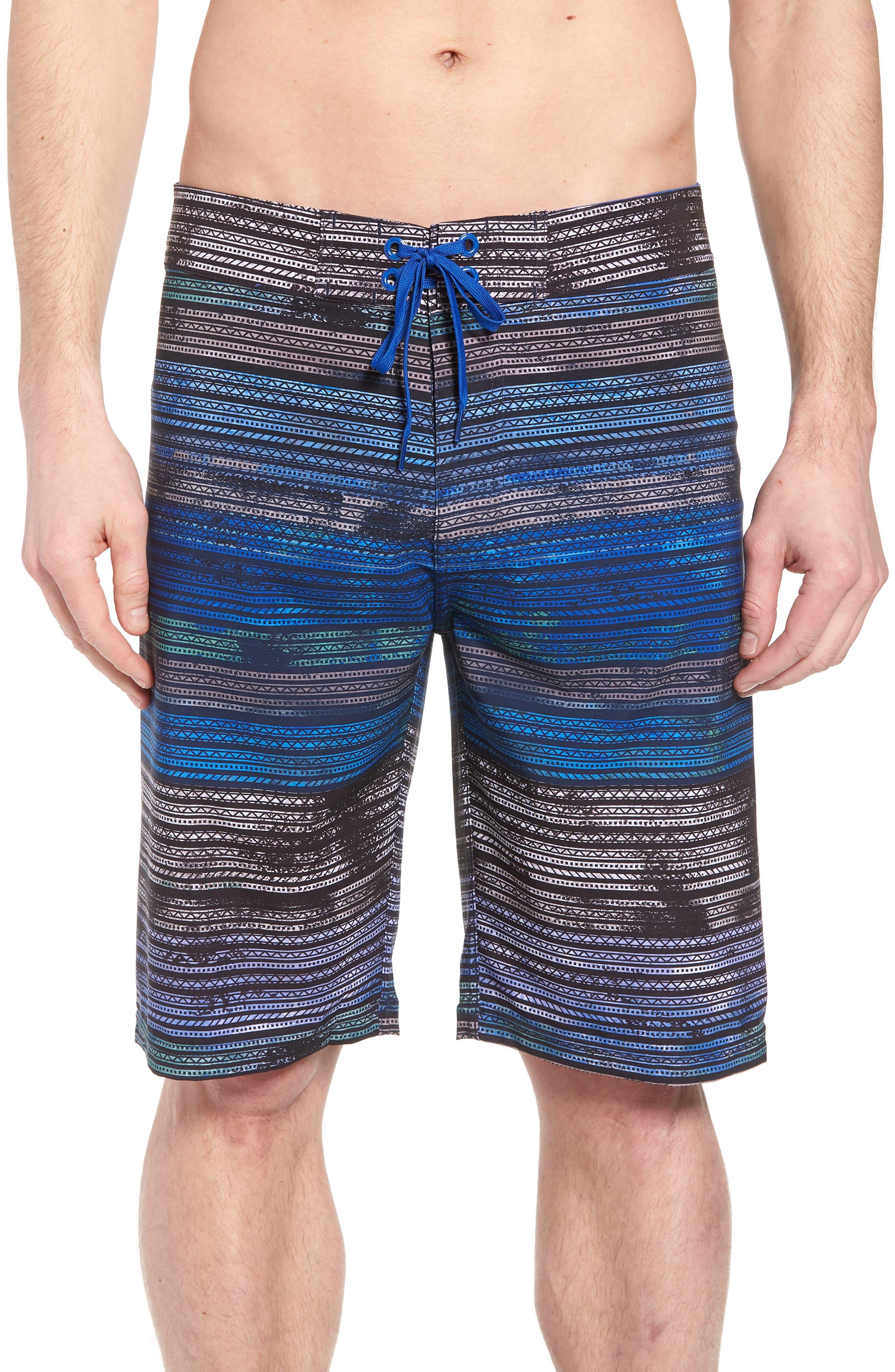 'Sediment' Stretch Board Shorts,                             Main thumbnail 4, color,