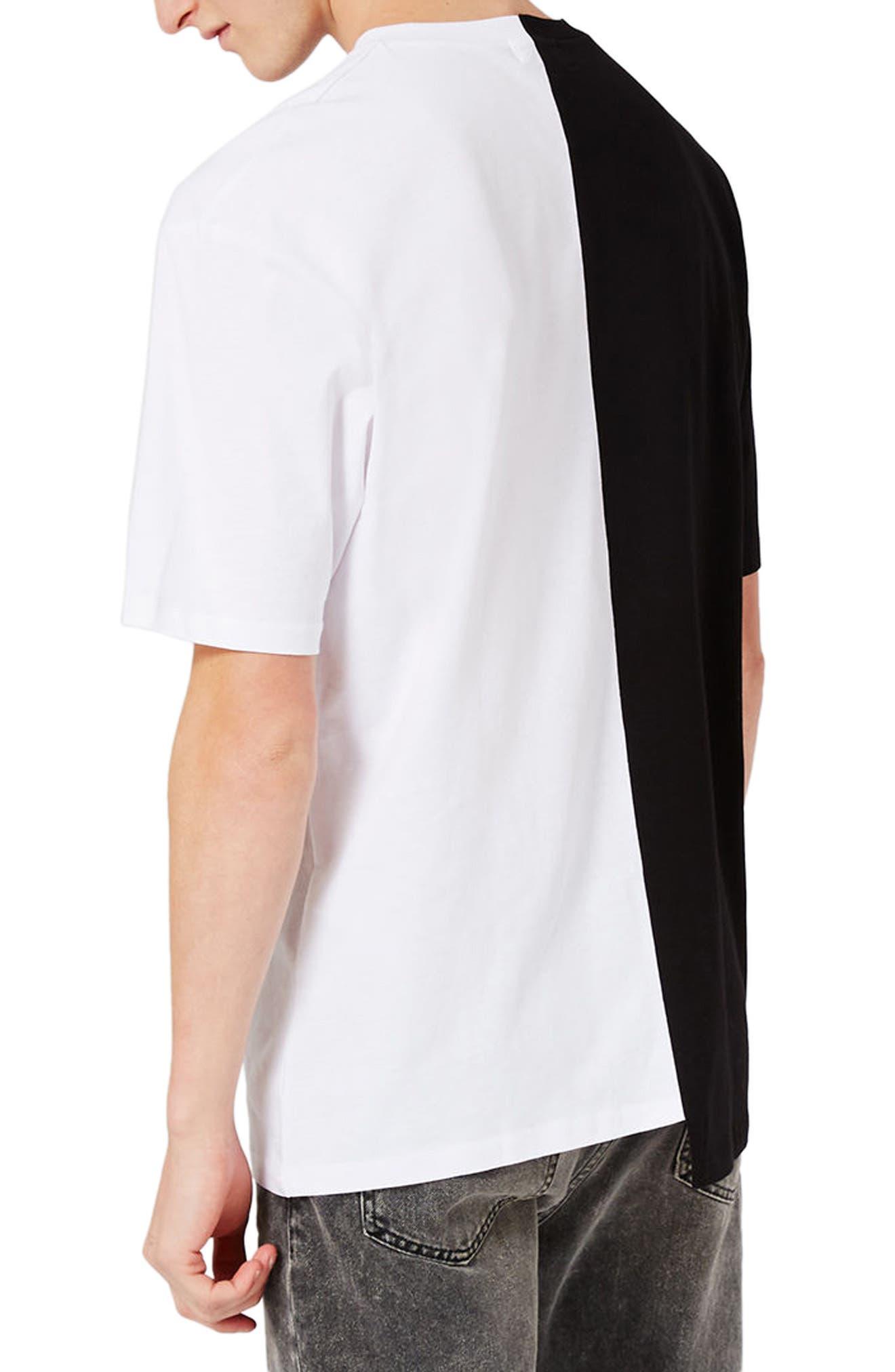 Spliced Oversize Future Graphic T-Shirt,                             Alternate thumbnail 2, color,                             001