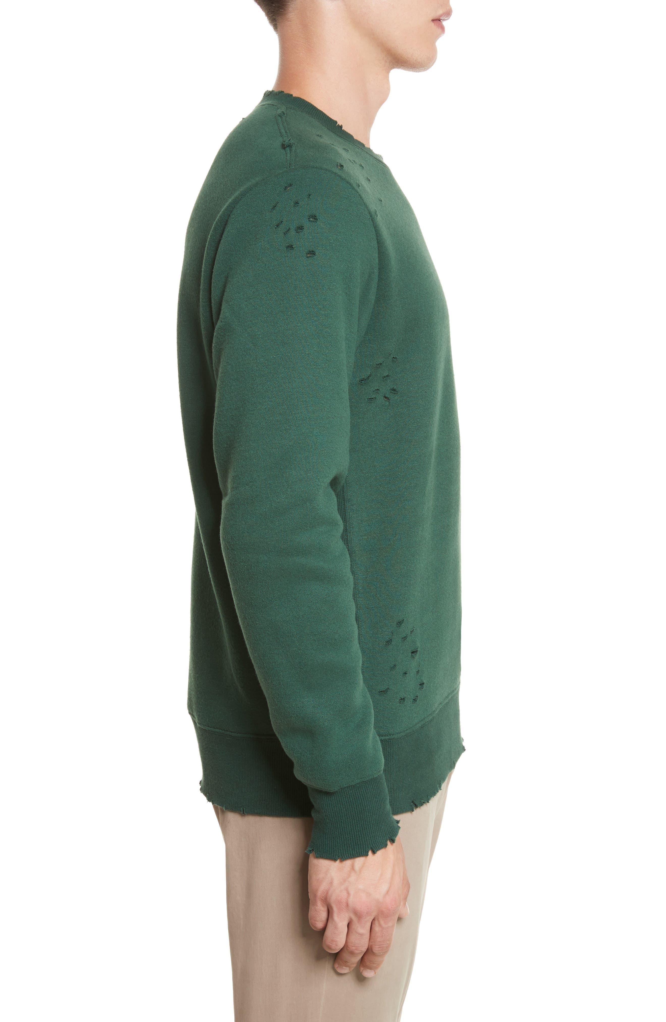 Crewneck Sweater,                             Alternate thumbnail 3, color,                             362