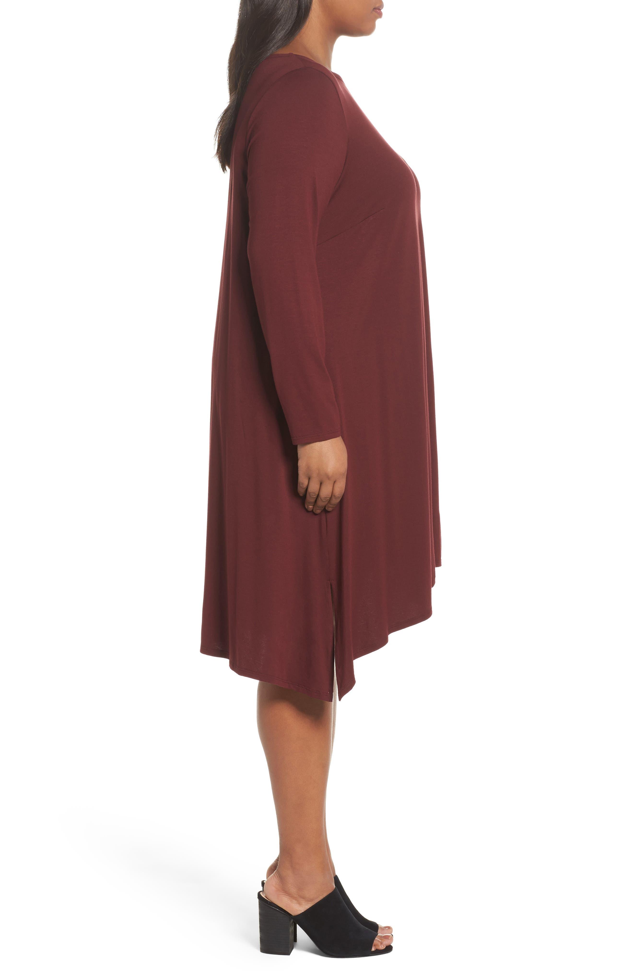 Jersey Tunic Dress,                             Alternate thumbnail 12, color,