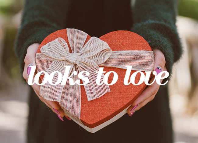Looks to love: women's Valentine's Day style.